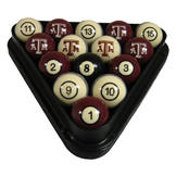NCAA Billiard Ball Set Texas A&M Billiard Ball Set - NUMBERED at Sears.com