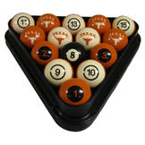 NCAA Billiard Ball Set Texas Billiard Ball Set - NUMBERED at Sears.com