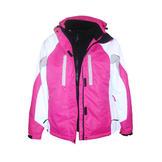 Pulse Women's 3in1 Ski Jacket Coat Pink Geo XS-XL at Sears.com
