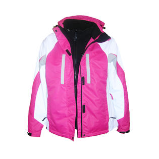 Pulse Womens Plus Size 3in1 Ski Jacket Coat 1X-5X Pink at Sears.com