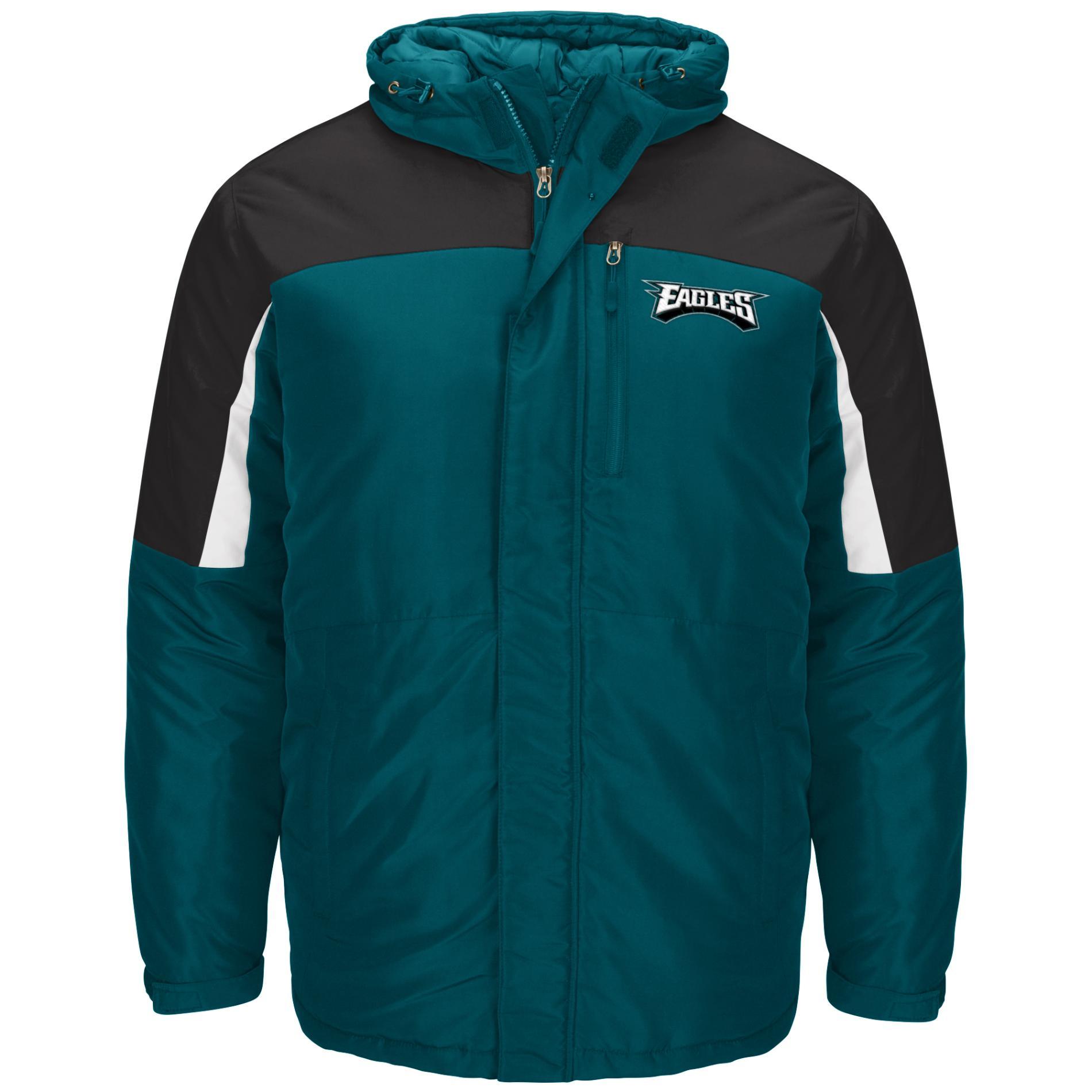 Pay Shell Credit Card >> NFL Men's Big & Tall Winter Jacket - Philadelphia Eagles