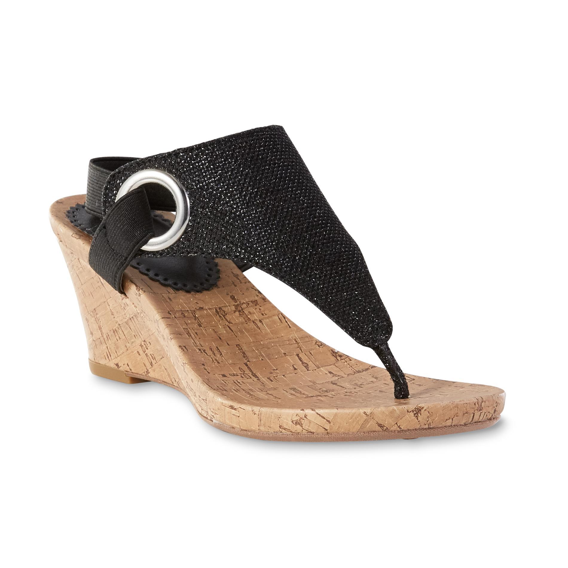 Women's sandals at kmart - Attention Women S Maya Sandal Black Shoes Women S Shoes Women S Sandals