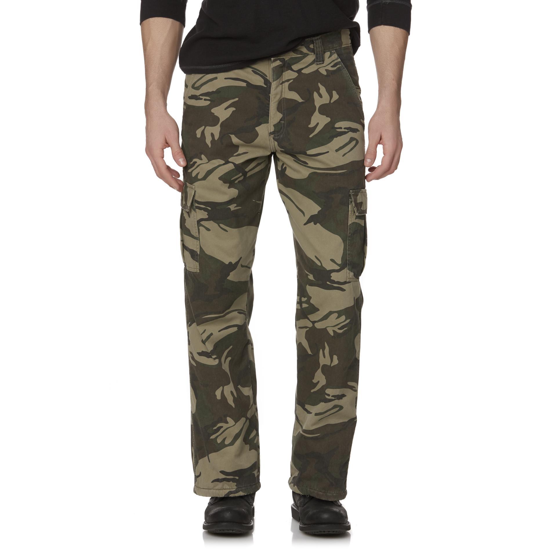 Men's Fleece-Lined Cargo Pants