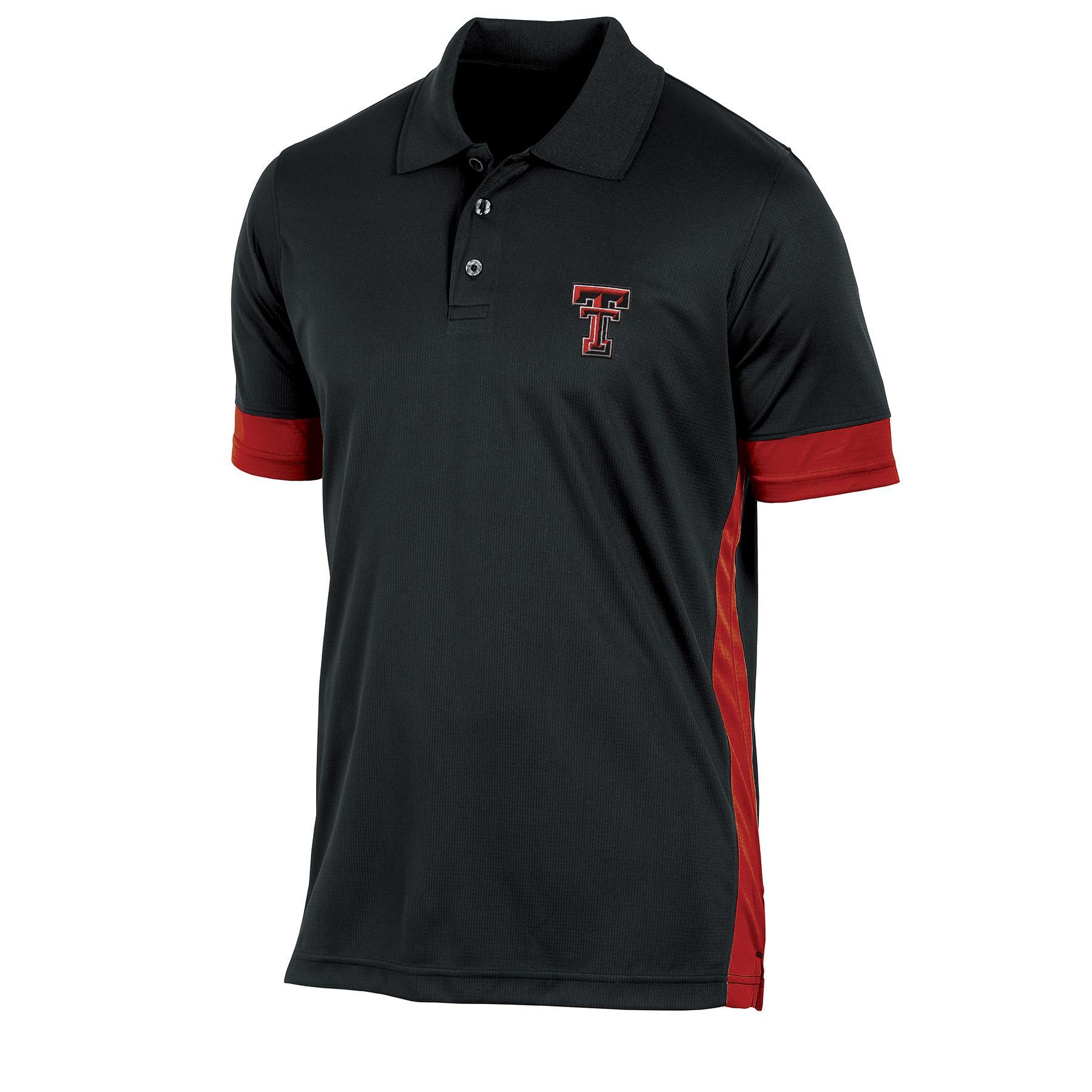 NCAA Men's Big & Tall Polo Shirt - Texas Tech Red Raiders PartNumber: 046VA94707212P MfgPartNumber: 7AXEE37KMF