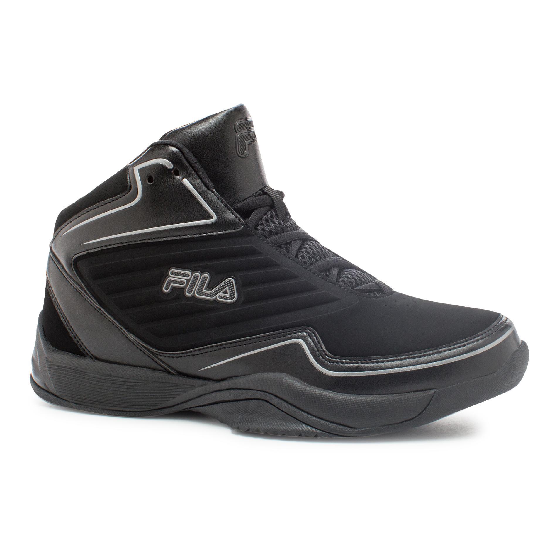 Fila Boy's Black Import High-Top Athletic Shoe PartNumber: 036VA94856512P MfgPartNumber: 3SB10300