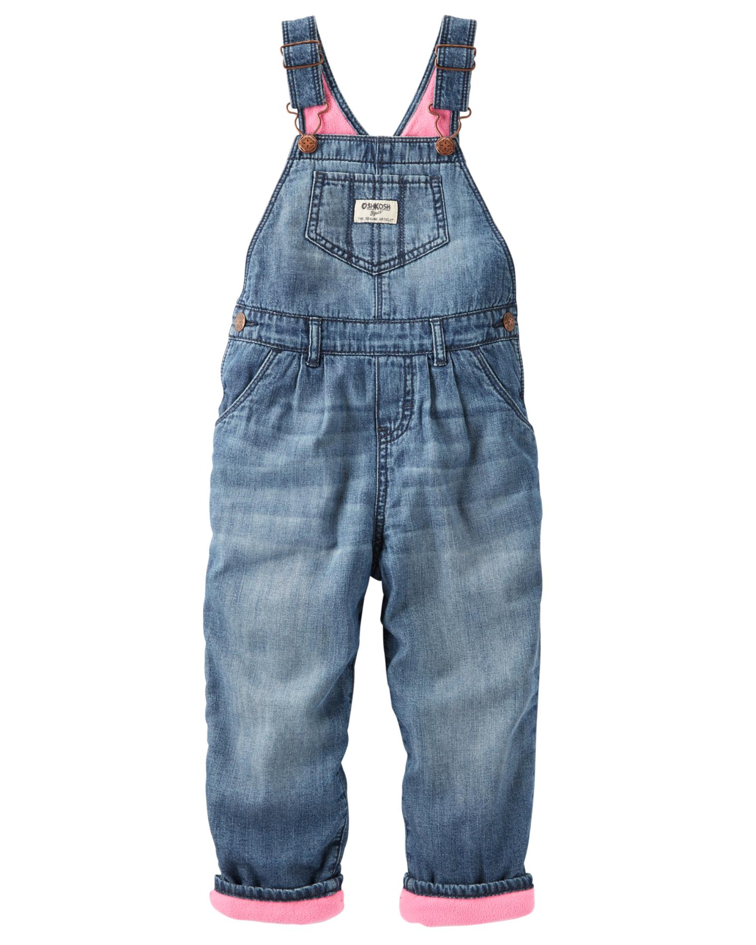 Osh Kosh Baby Girls' World's Best Overalls