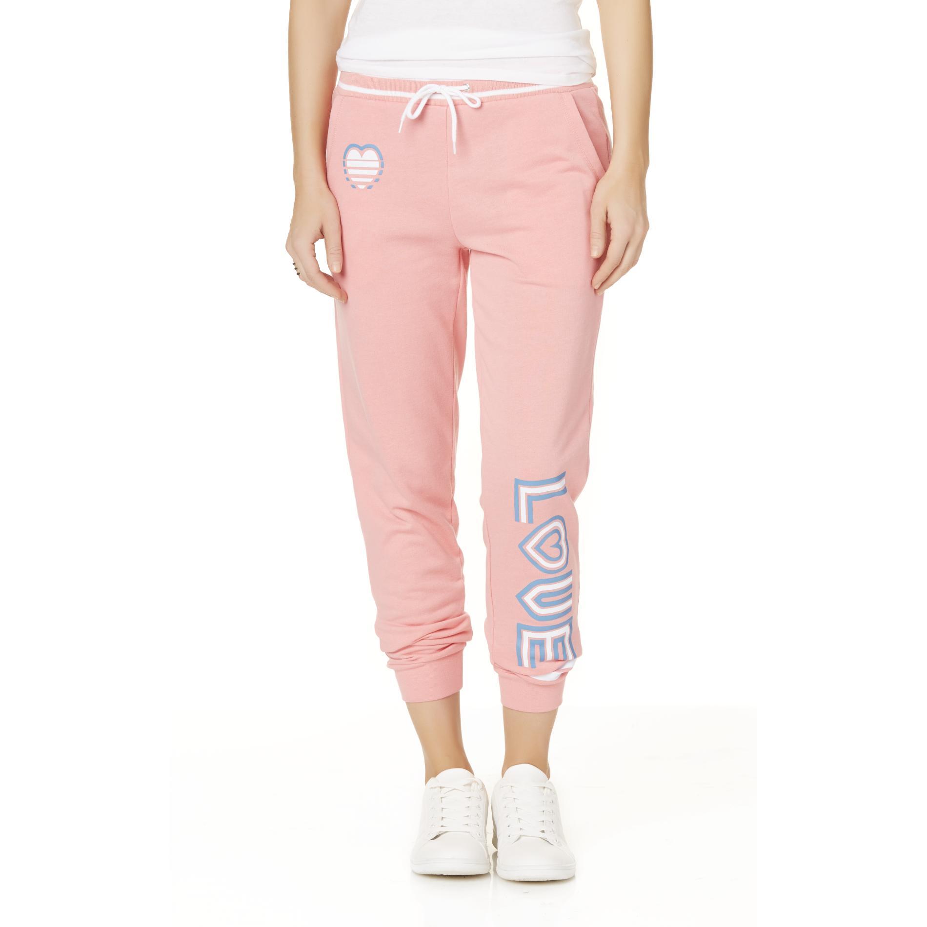 Joe Boxer Juniors' Fashion Jogger Pants - Love PartNumber: 027VA94927012P MfgPartNumber: WS7JB53020JR