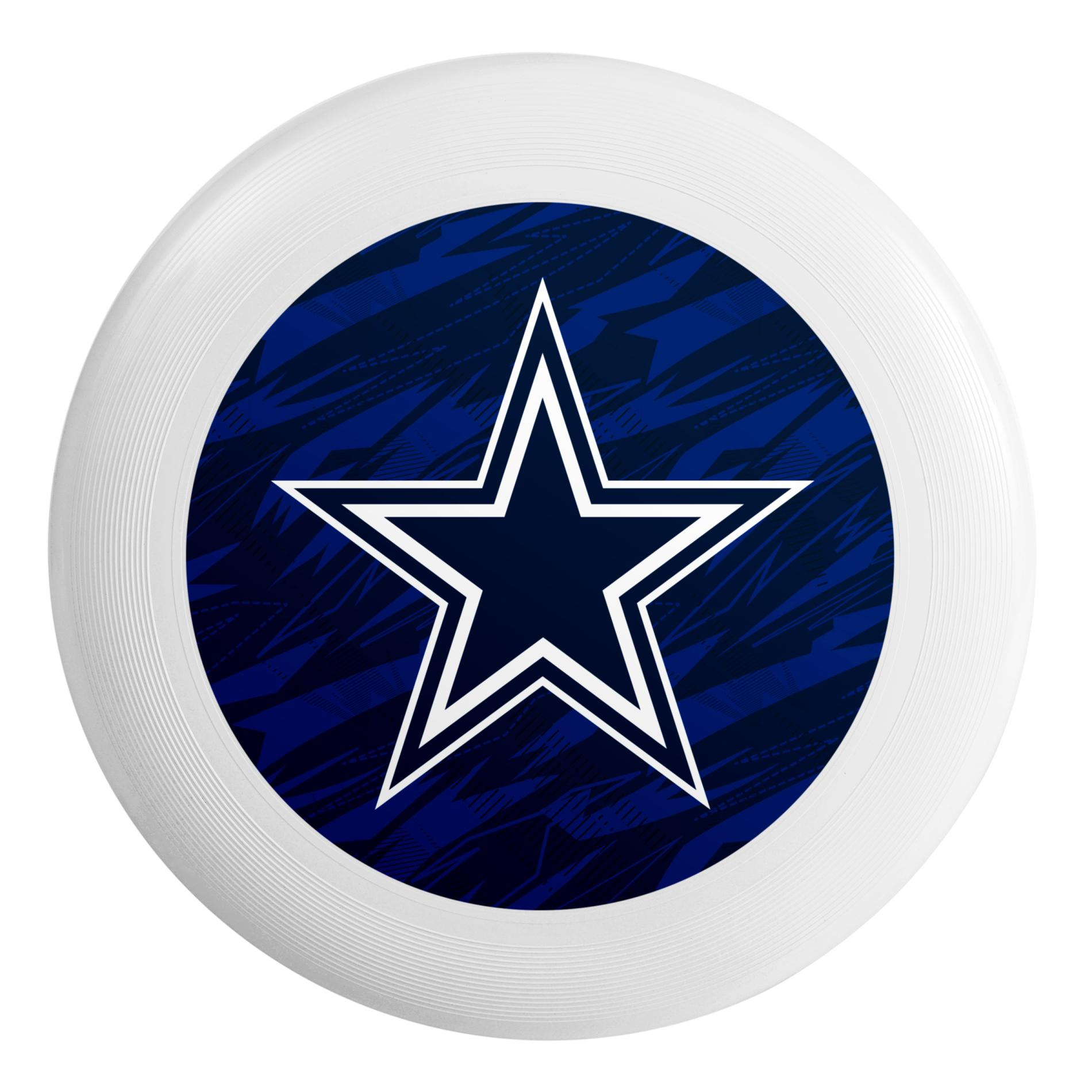 NFL Flying Disc - Dallas Cowboys PartNumber: 046W008743647001P KsnValue: 046W008743647001 MfgPartNumber: DSCNFHETLSRDC