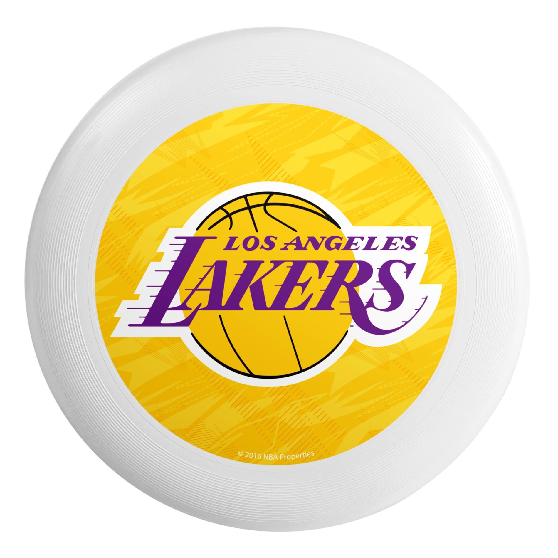 NBA(CANONICAL) Flying Disc - Los Angeles Lakers PartNumber: 046W008743624001P KsnValue: 8743624 MfgPartNumber: DSCNBHETLSRLAL