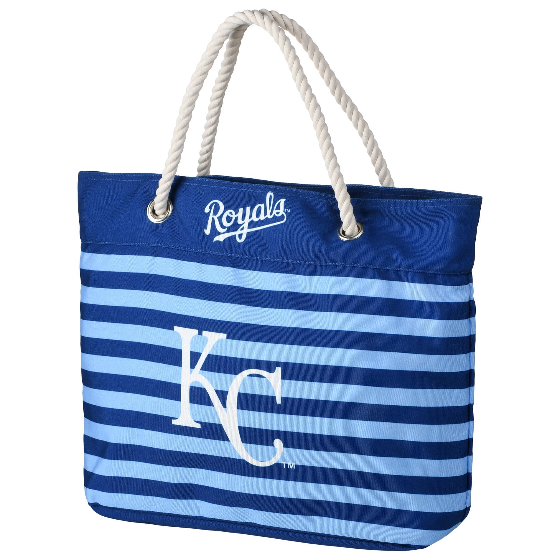 Mlb Striped Tote Bag Kansas City Royals