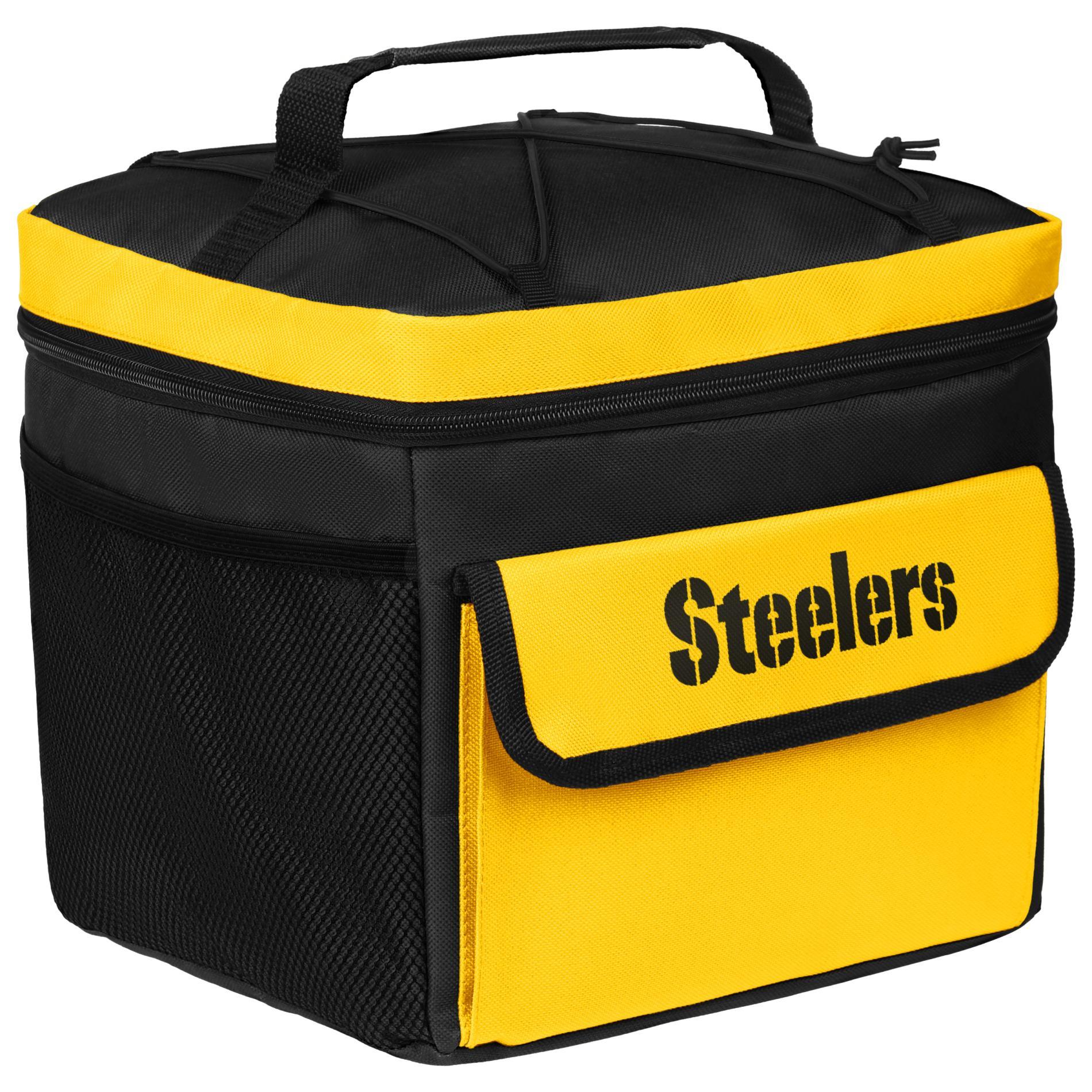 NFL All-Star Cooler Bag - Pittsburgh Steelers PartNumber: 046W008599848001P KsnValue: 046W008599848001 MfgPartNumber: CONFBNGASPS