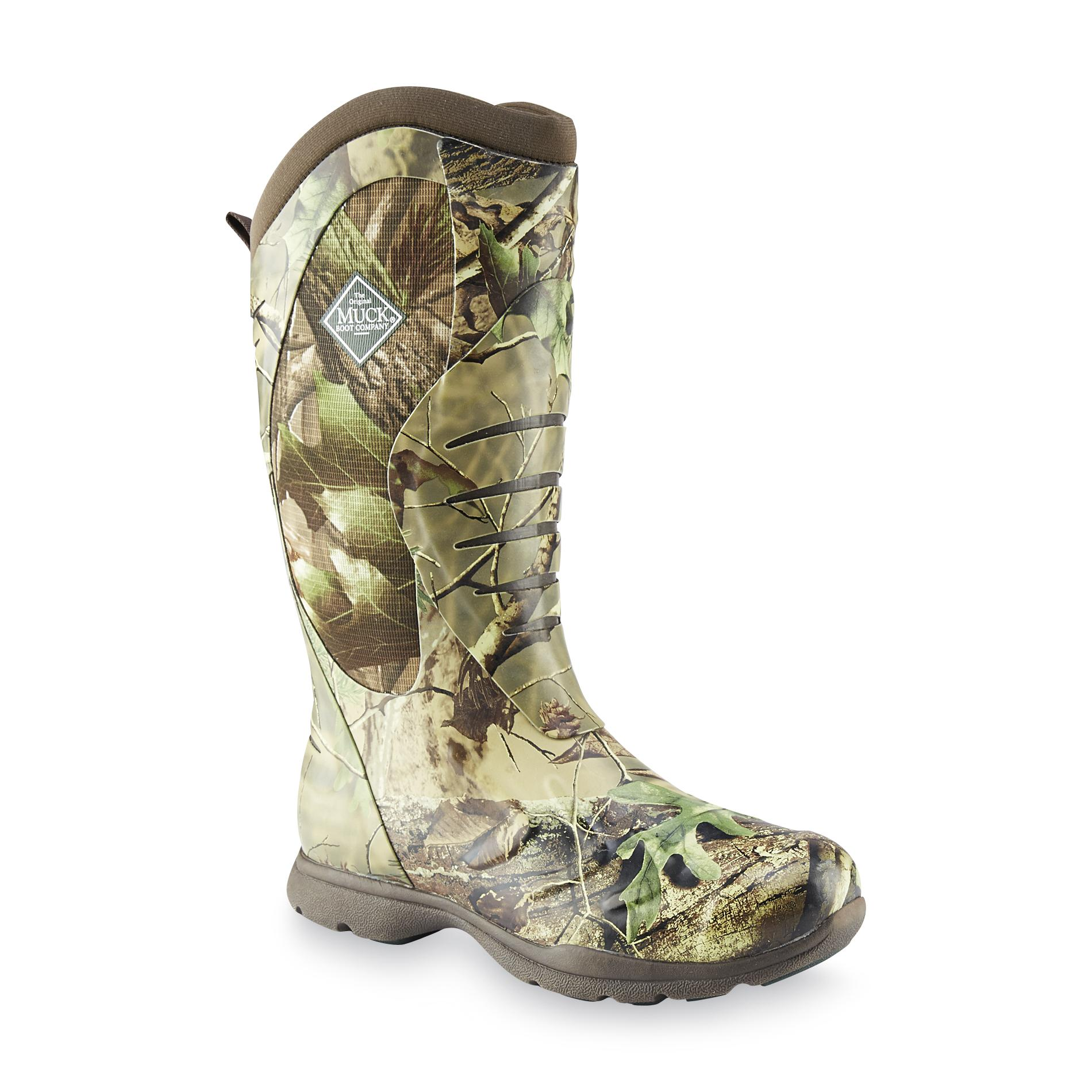 The Original Muck Boot Company Men's Pursuit Stealth Cool Camouflage Hunting Boot