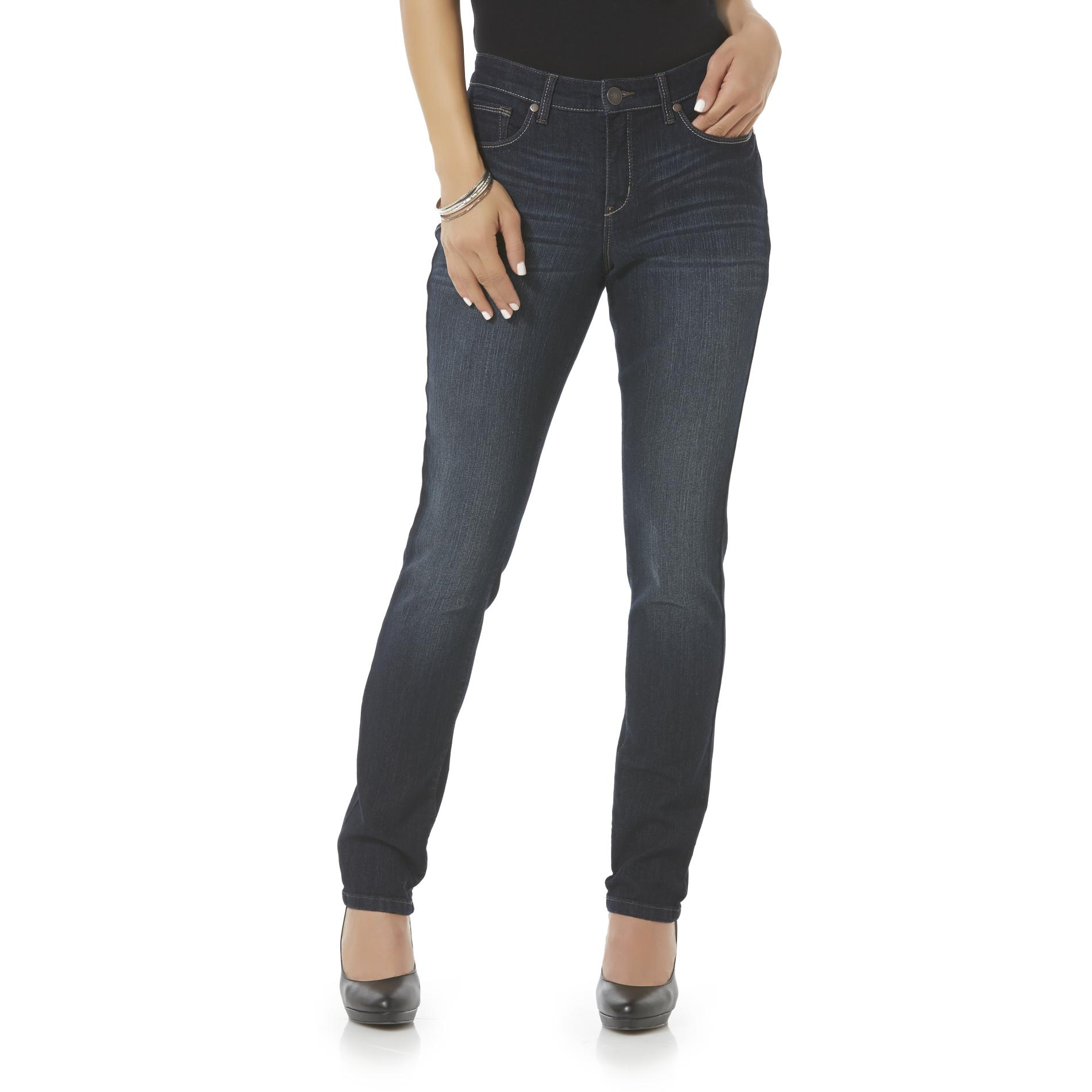 Canyon River Blues Women's Modern Fit Skinny Jeans - Dark Wash