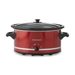 Hamilton Beach Brands Inc. 8-Quart Slow Cooker - Red + $10 Sears Credit