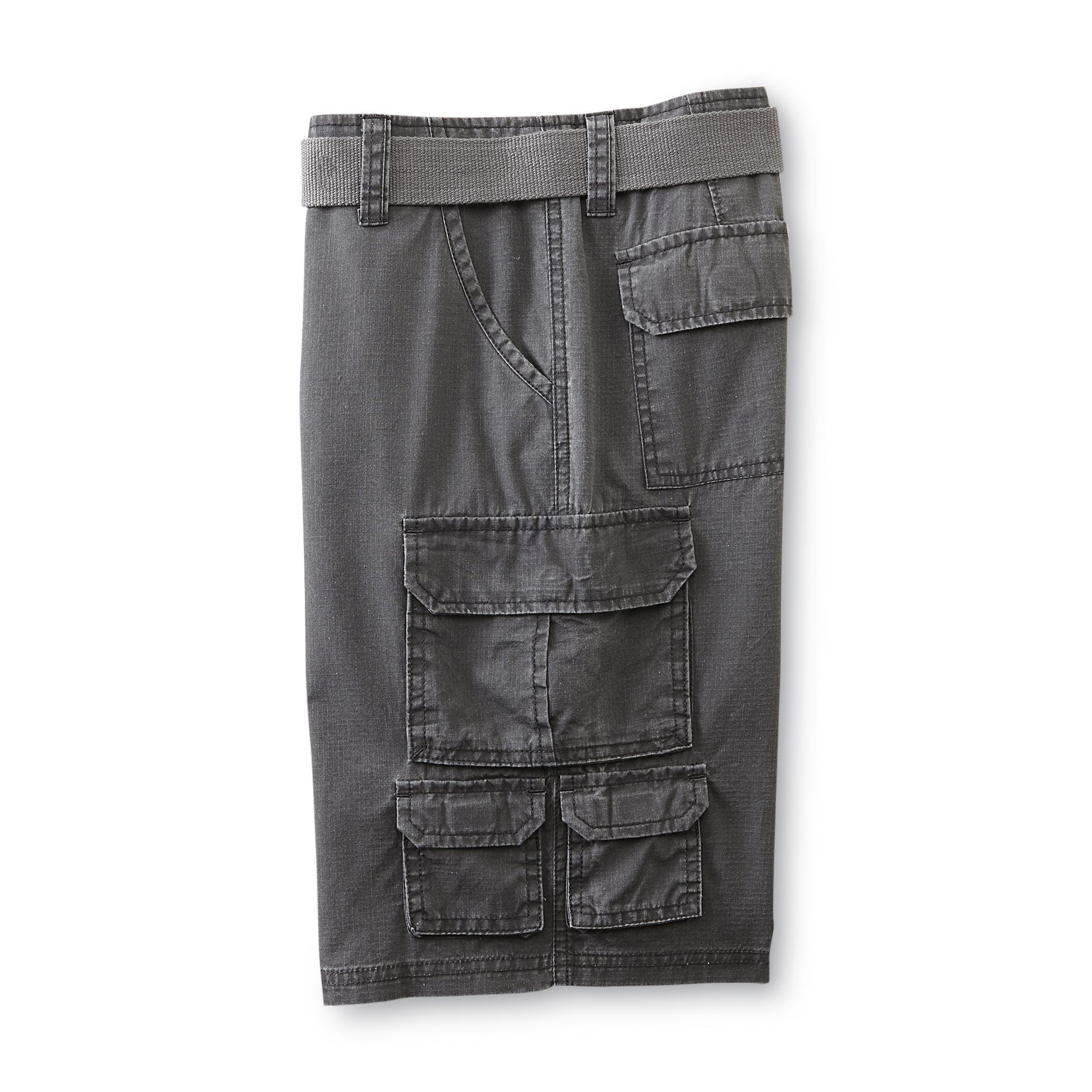 SK2 Boy's Ripstop Cargo Shorts & Belt