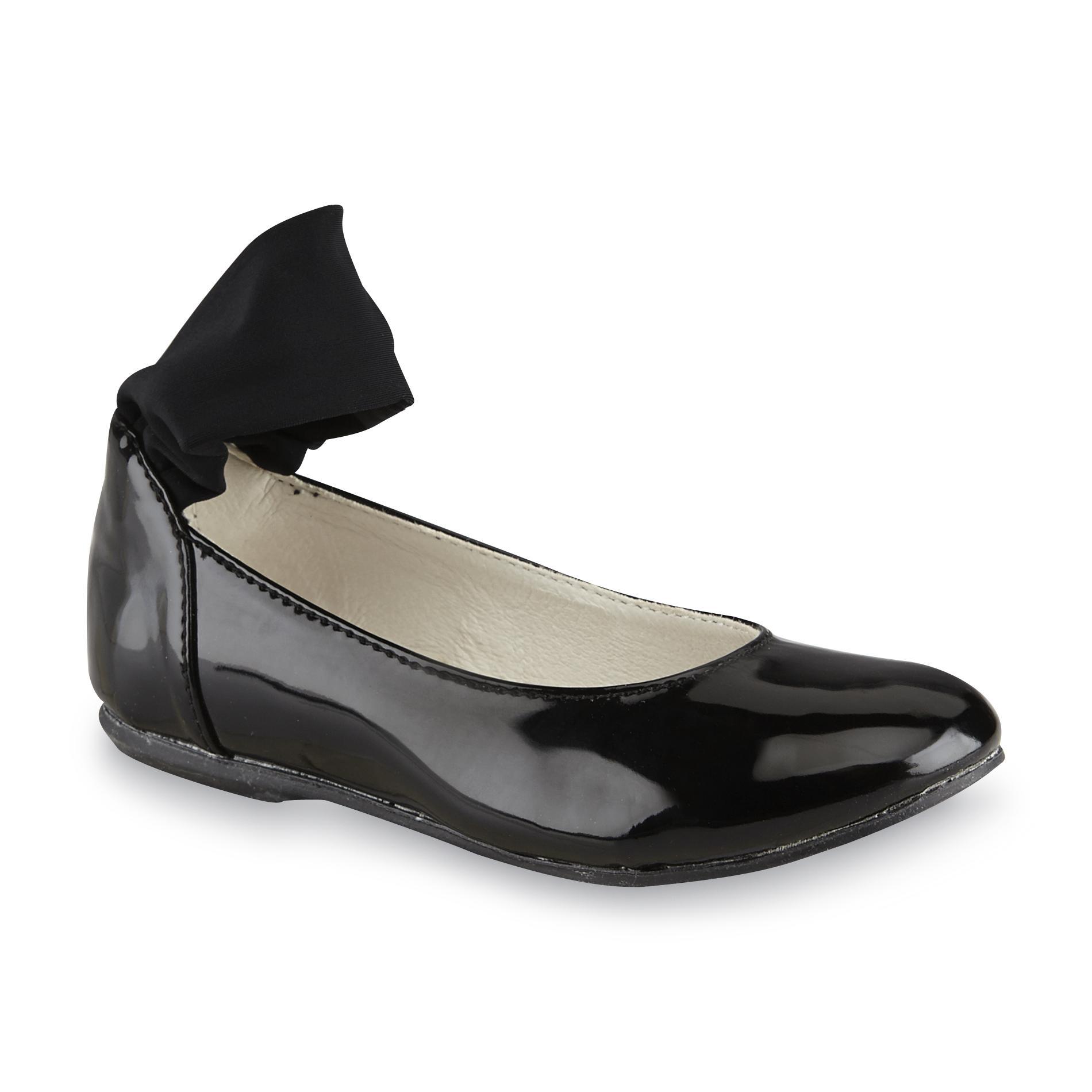 Primigi Toddler Girl's Ginni Black Ballet Flat
