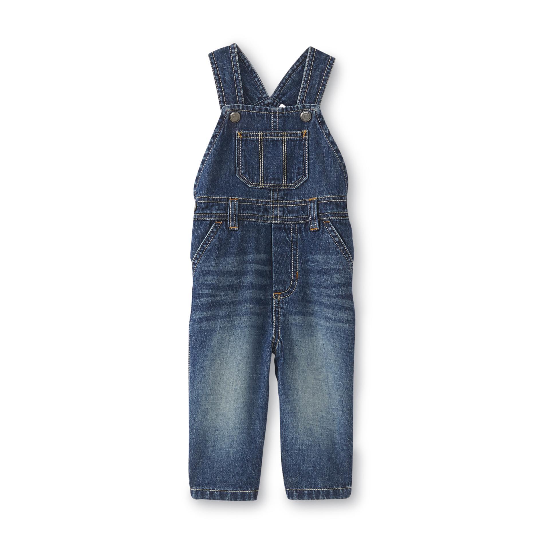 Little Wonders Newborn & Infant Boy's Denim Overalls