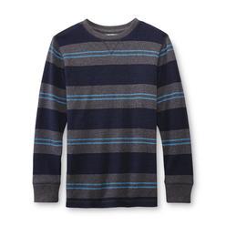 Canyon River Blues Boy's Thermal Shirt - Striped