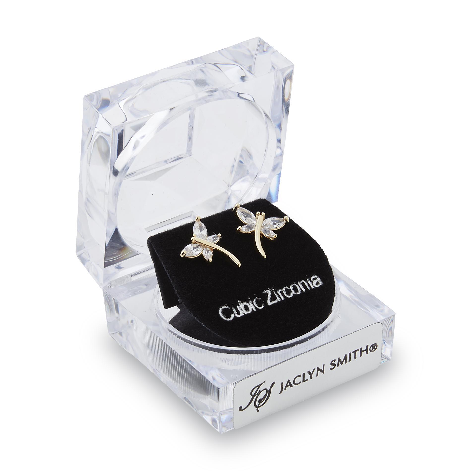 Women's Goldtone Dragonfly Post Earrings