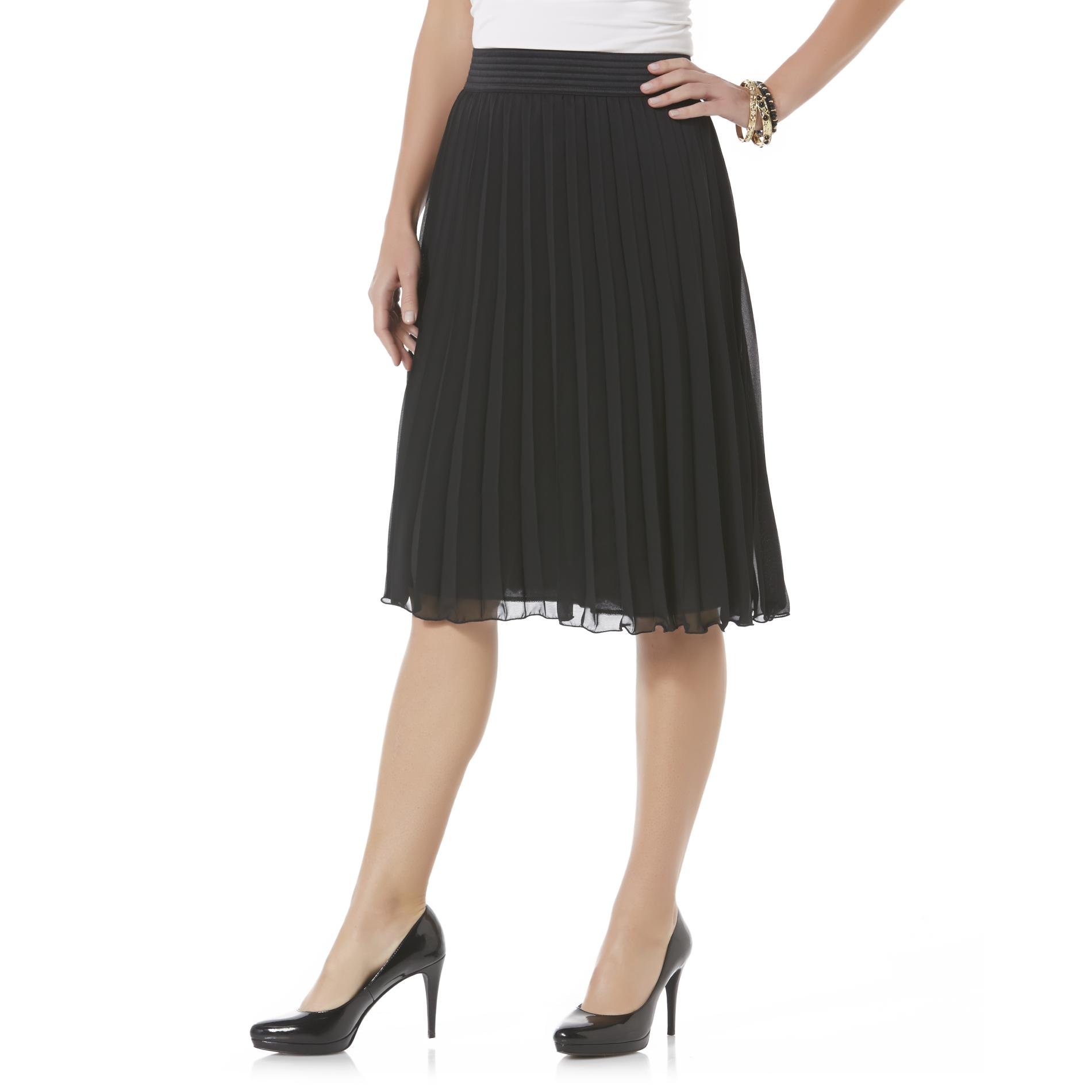 Jaclyn Smith Women's Pleated Skirt PartNumber: 027VA82194512P MfgPartNumber: WF5JS52040MI