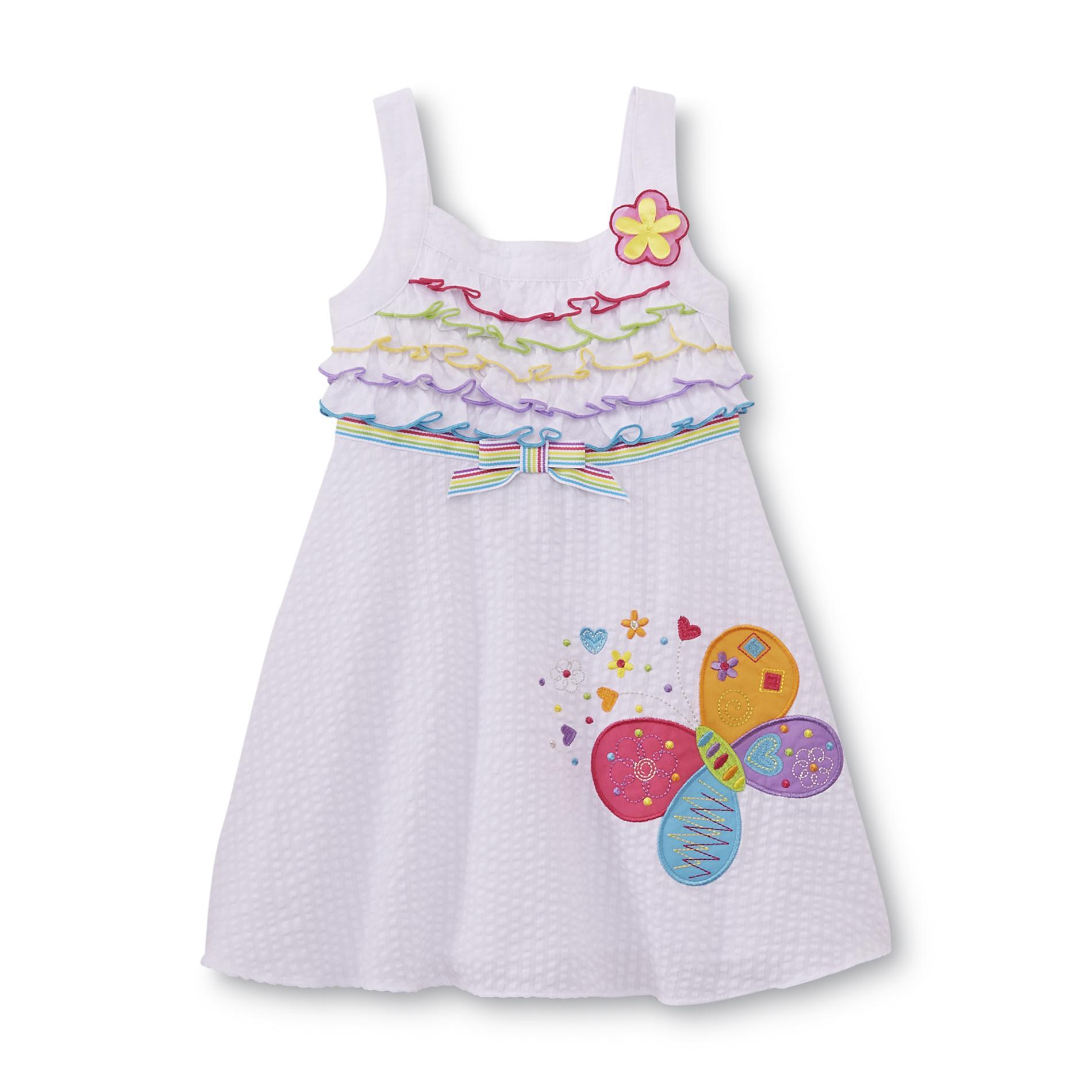 Youngland Infant & Toddler Girl's Seersucker Sundress