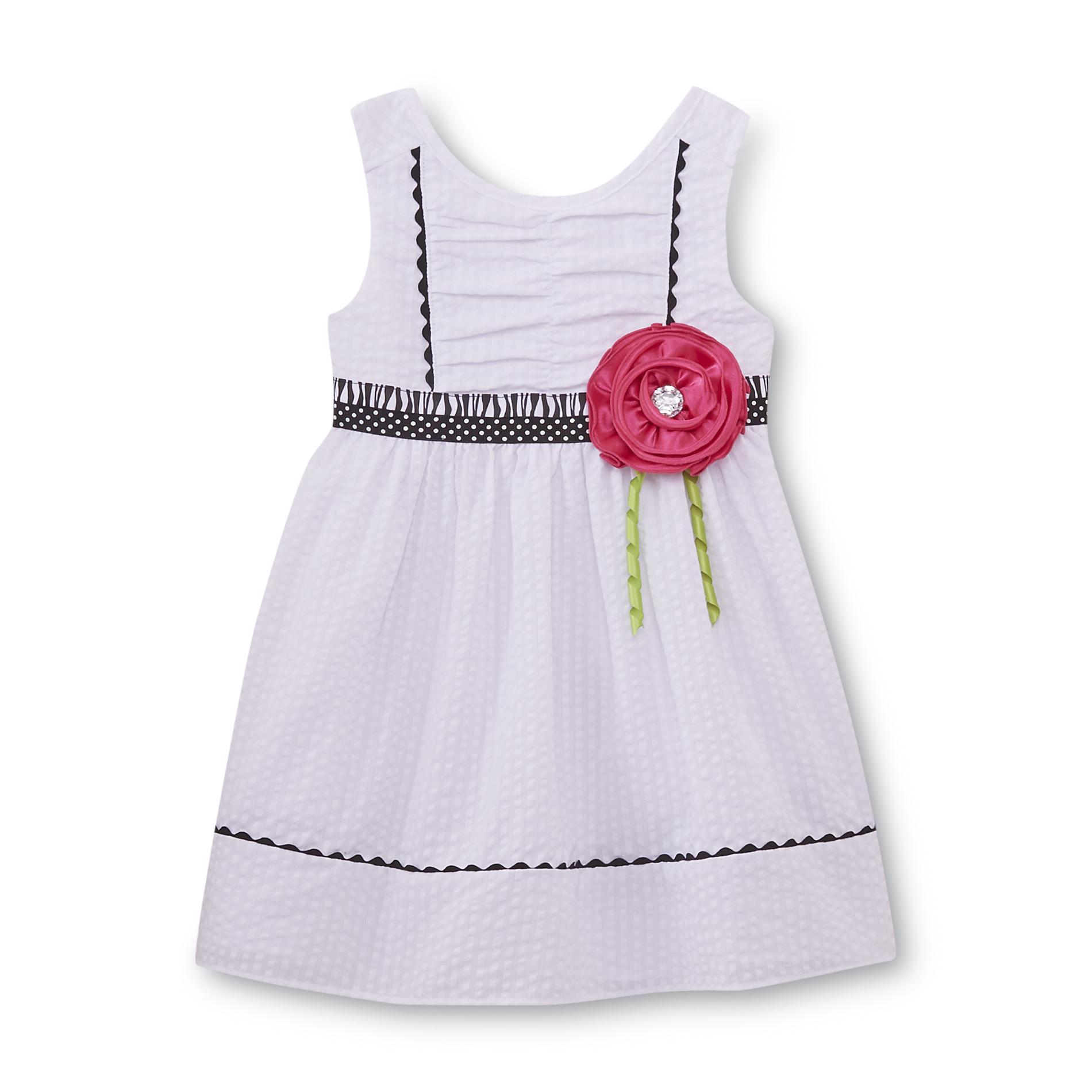 Youngland Infant & Toddler Girl's Seersucker Dress
