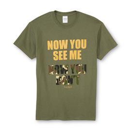 Men's Graphic T-Shirt - Camouflage at Kmart.com