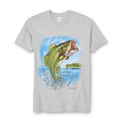 Men's Graphic T-Shirt - Bass at Kmart.com