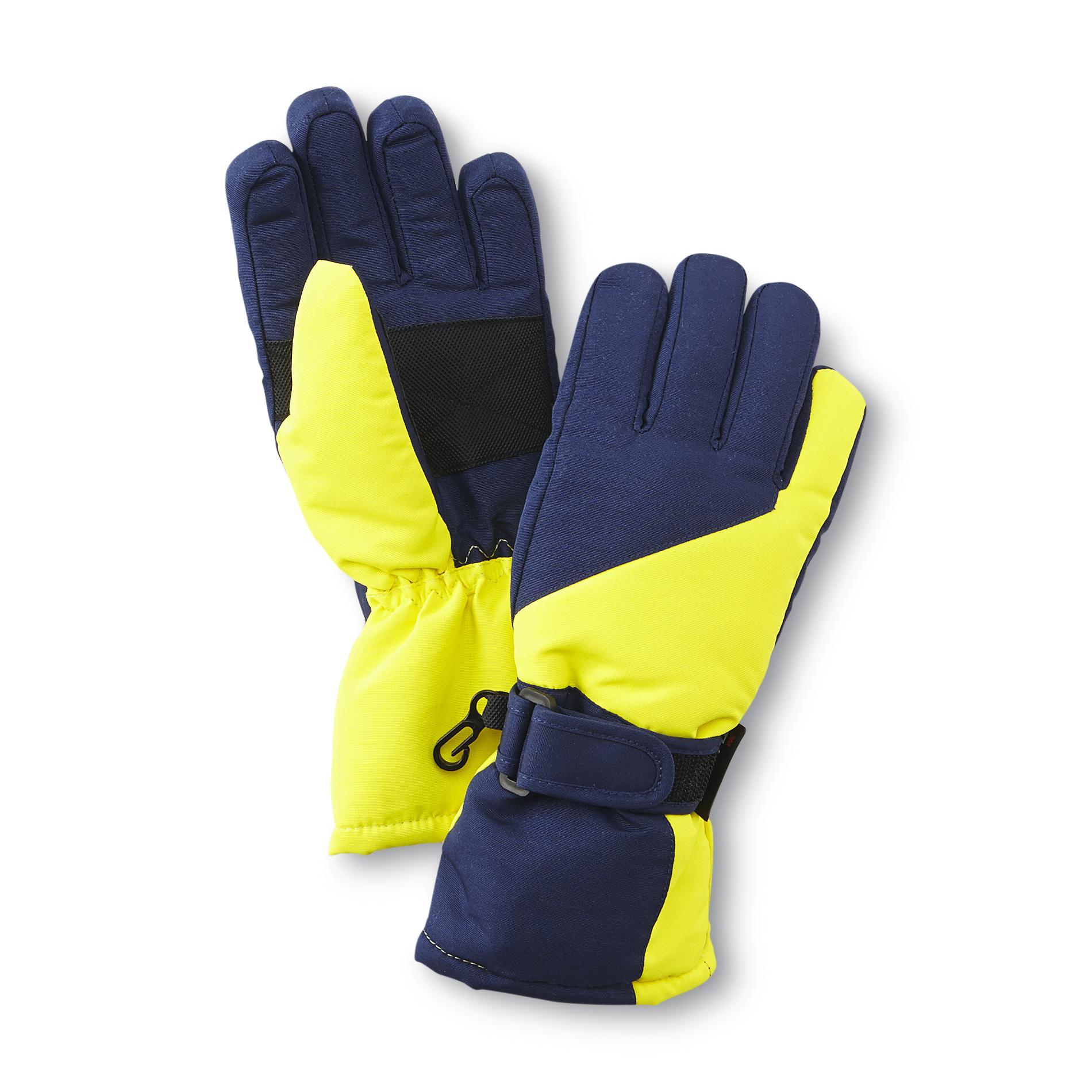 060e7322339 Athletech Boy s Ski Gloves - Colorblock