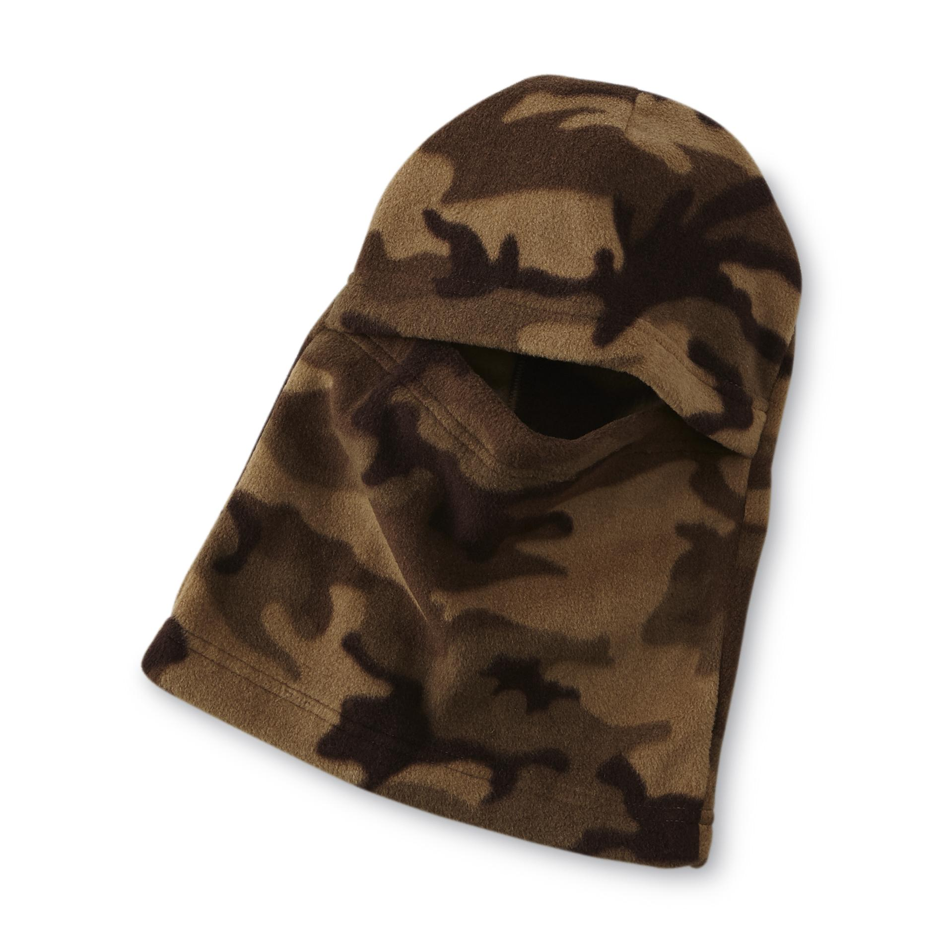 Athletech Boy's Microfleece Face Mask - Camouflage