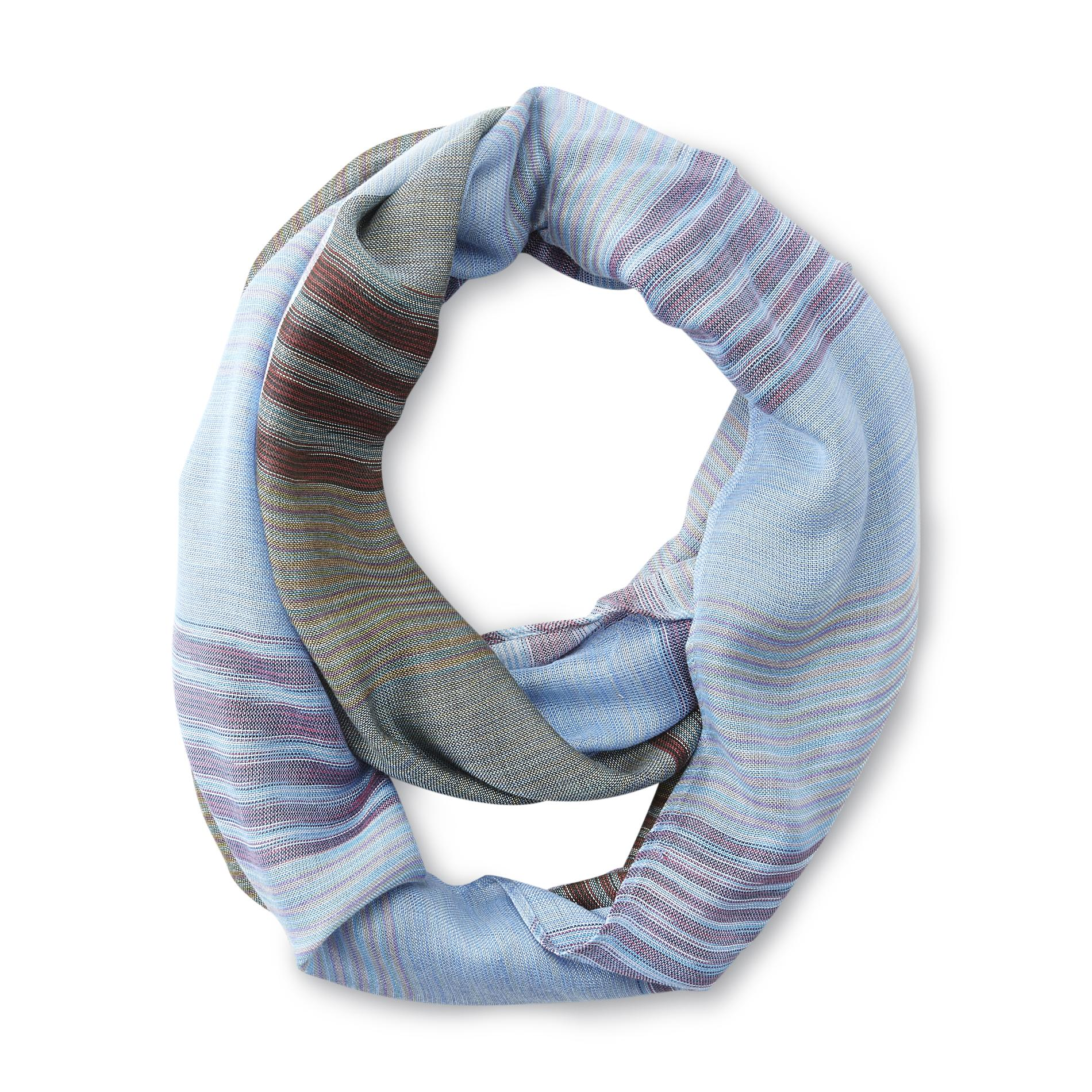 Joe Boxer Women's Infinity Fashion Scarf - Plaid
