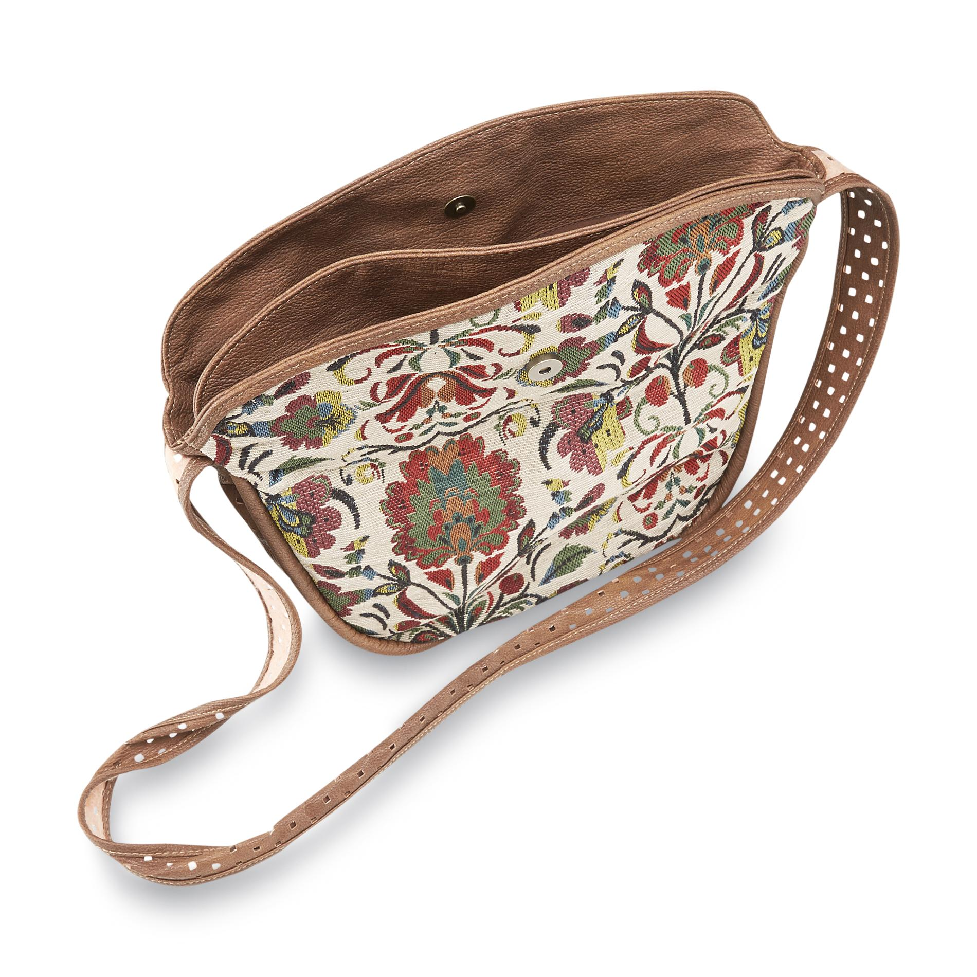 Joe Boxer Women's Crossbody Bag - Tribal