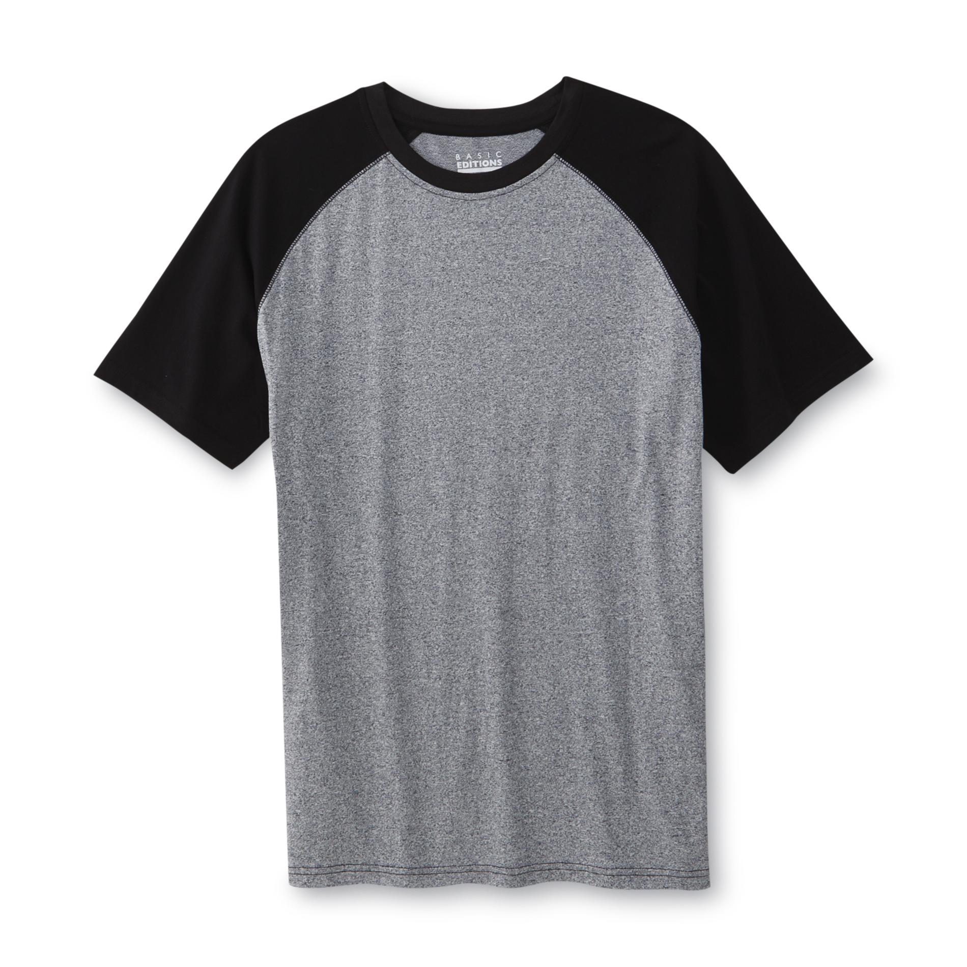 Basic Editions Men's Big & Tall Raglan T-Shirt