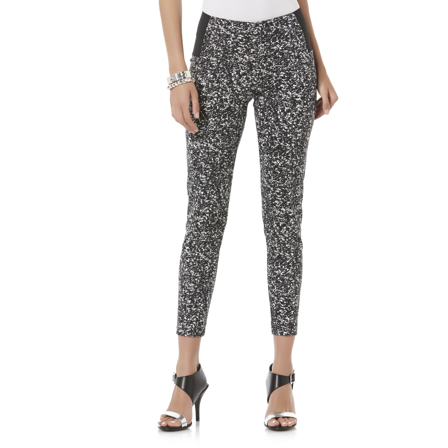 Attention Women's Knit Pants - Abstract