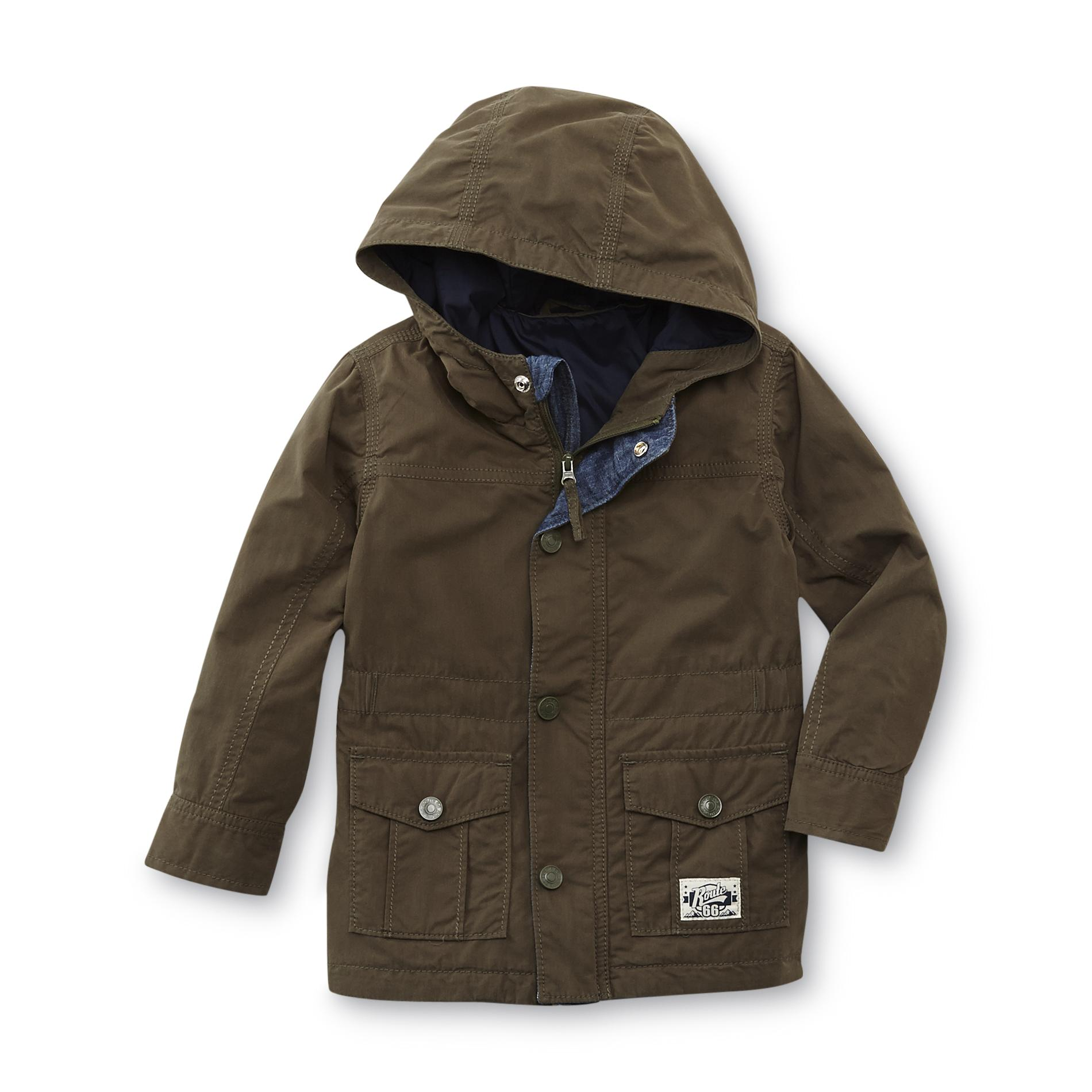 Route 66 Baby Toddler Boy's Hooded Jacket