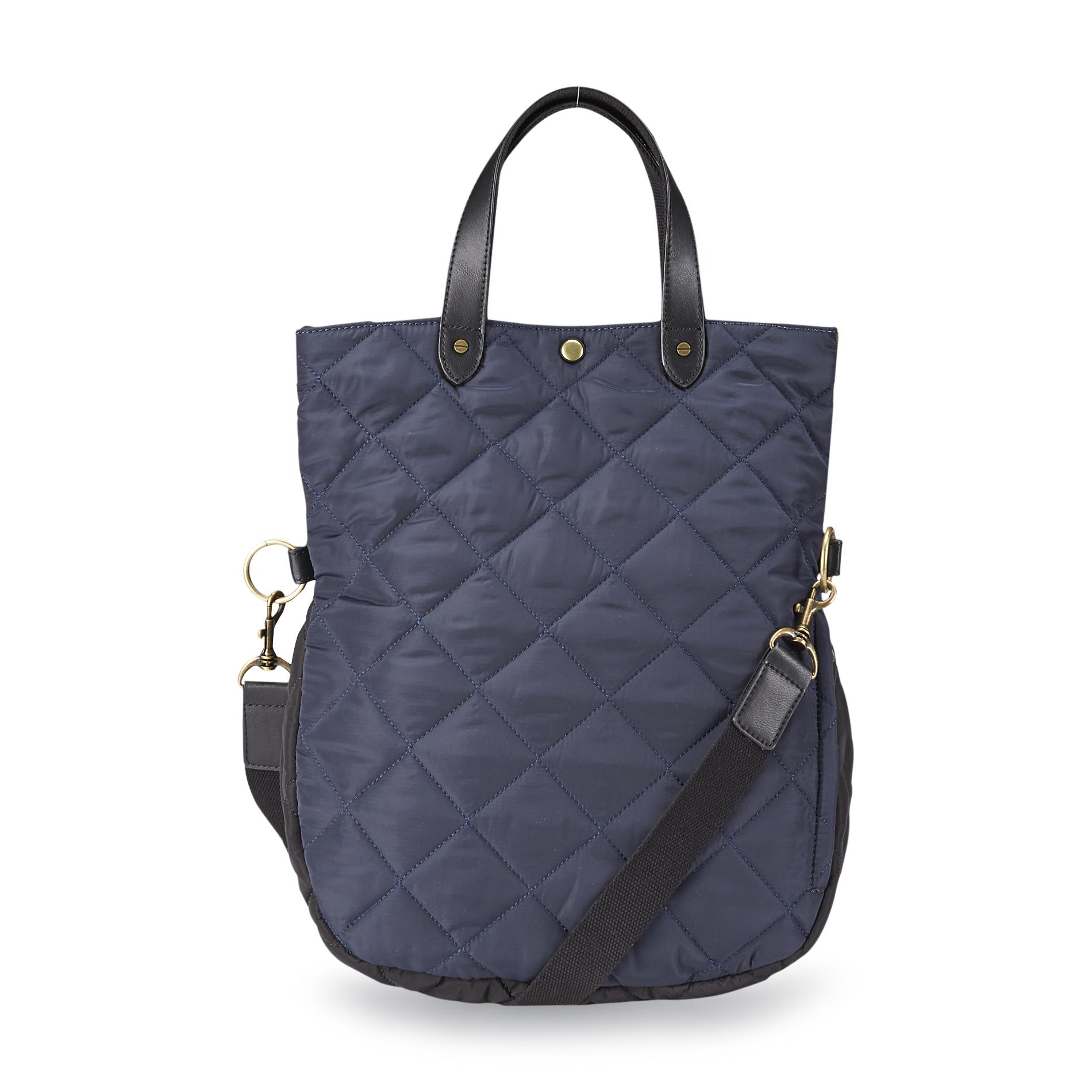 Canyon River Blues Women's Redwood Quilted Convertible Messenger Bag