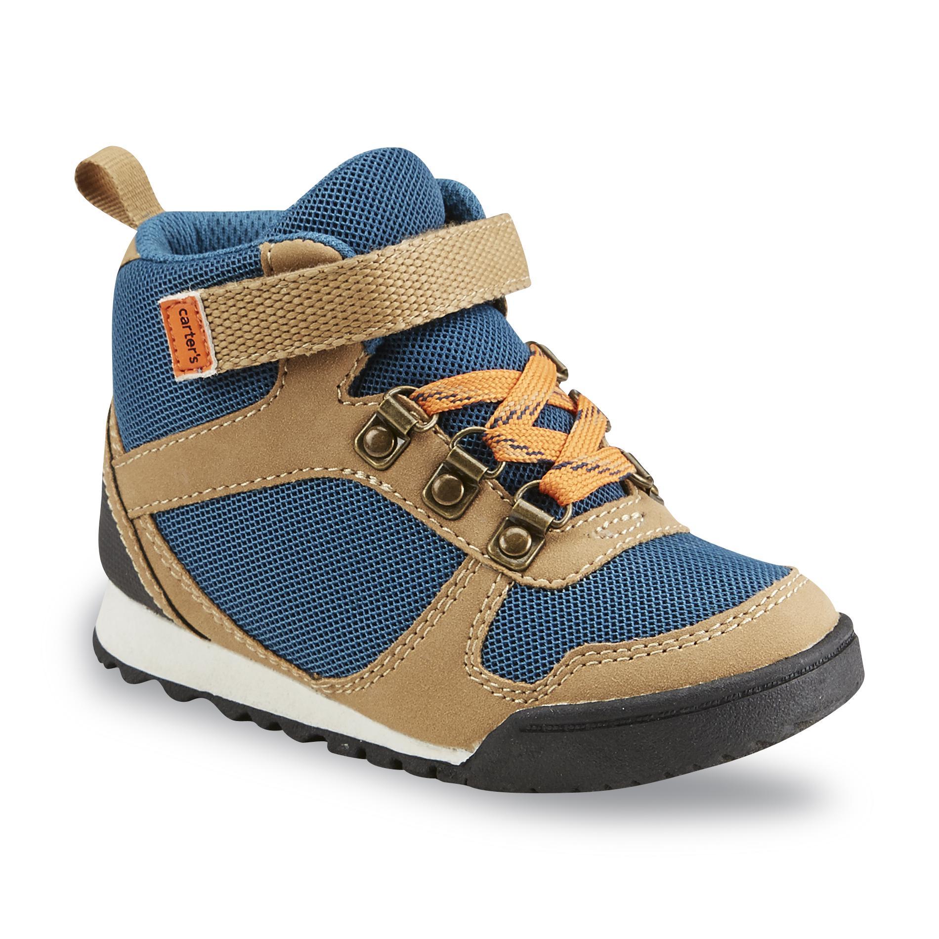 Carter's Toddler Boy's Emin 2 Green/Brown/Orange High-Top Shoe