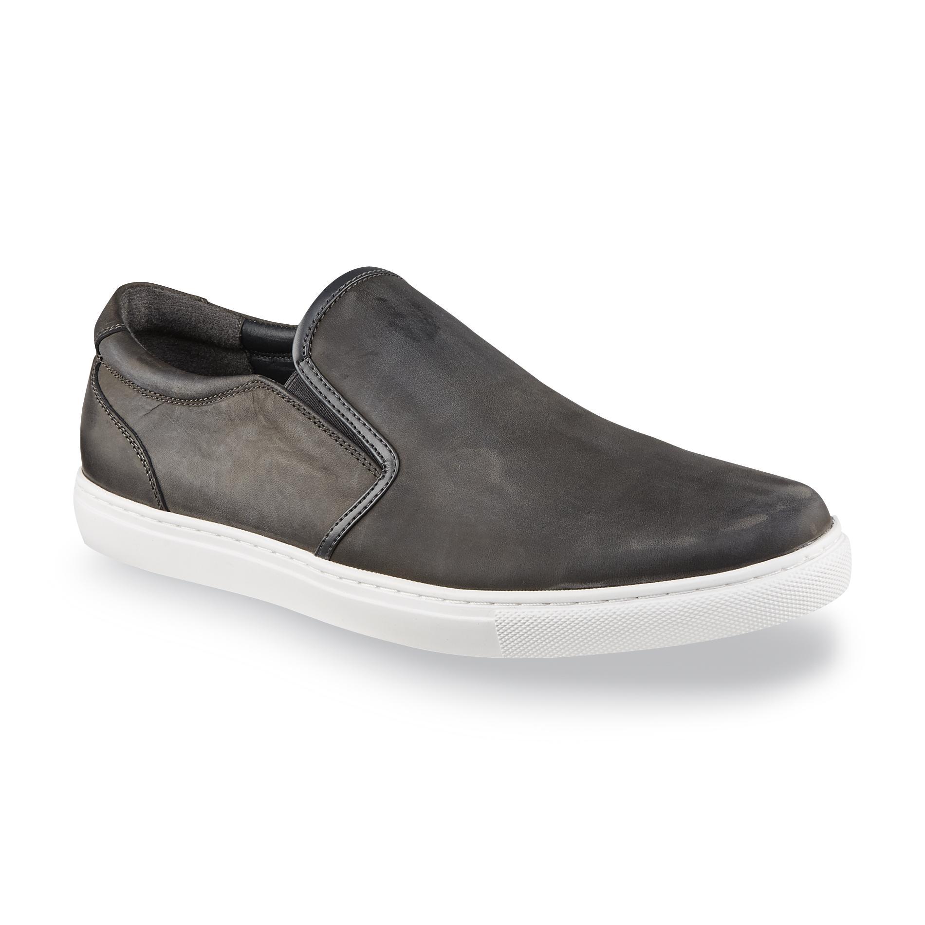 Structure Men's Strum Gray Slip-On Shoe