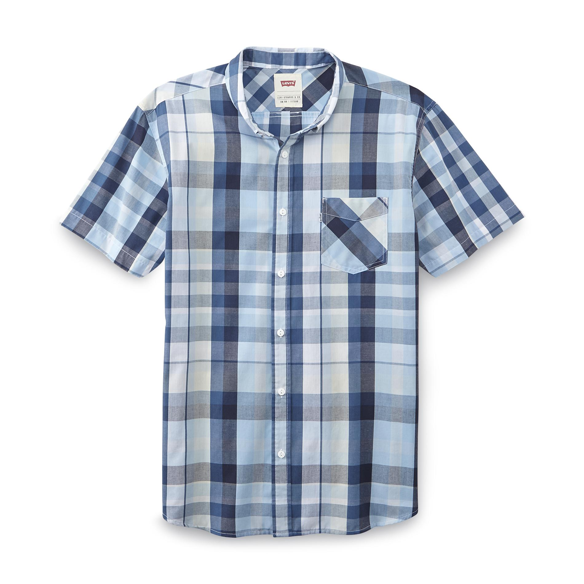 Levi's Men's Short-Sleeve Shirt - Plaid PartNumber: 041VA82877012P MfgPartNumber: 3LYSW6332