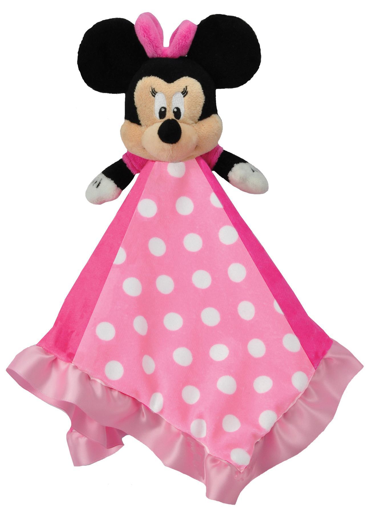Disney Minnie Mouse Plush Toy Baby Blanket