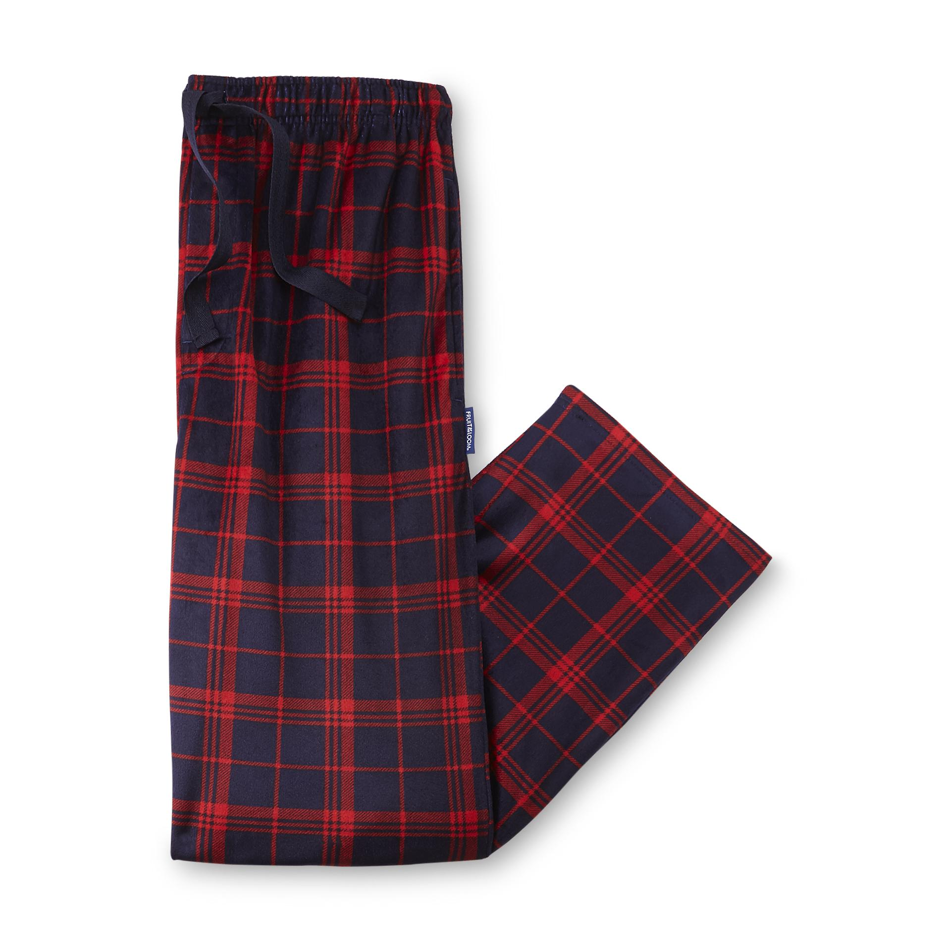 Fruit of the Loom Men's Flannel Pajama Pants - Plaid
