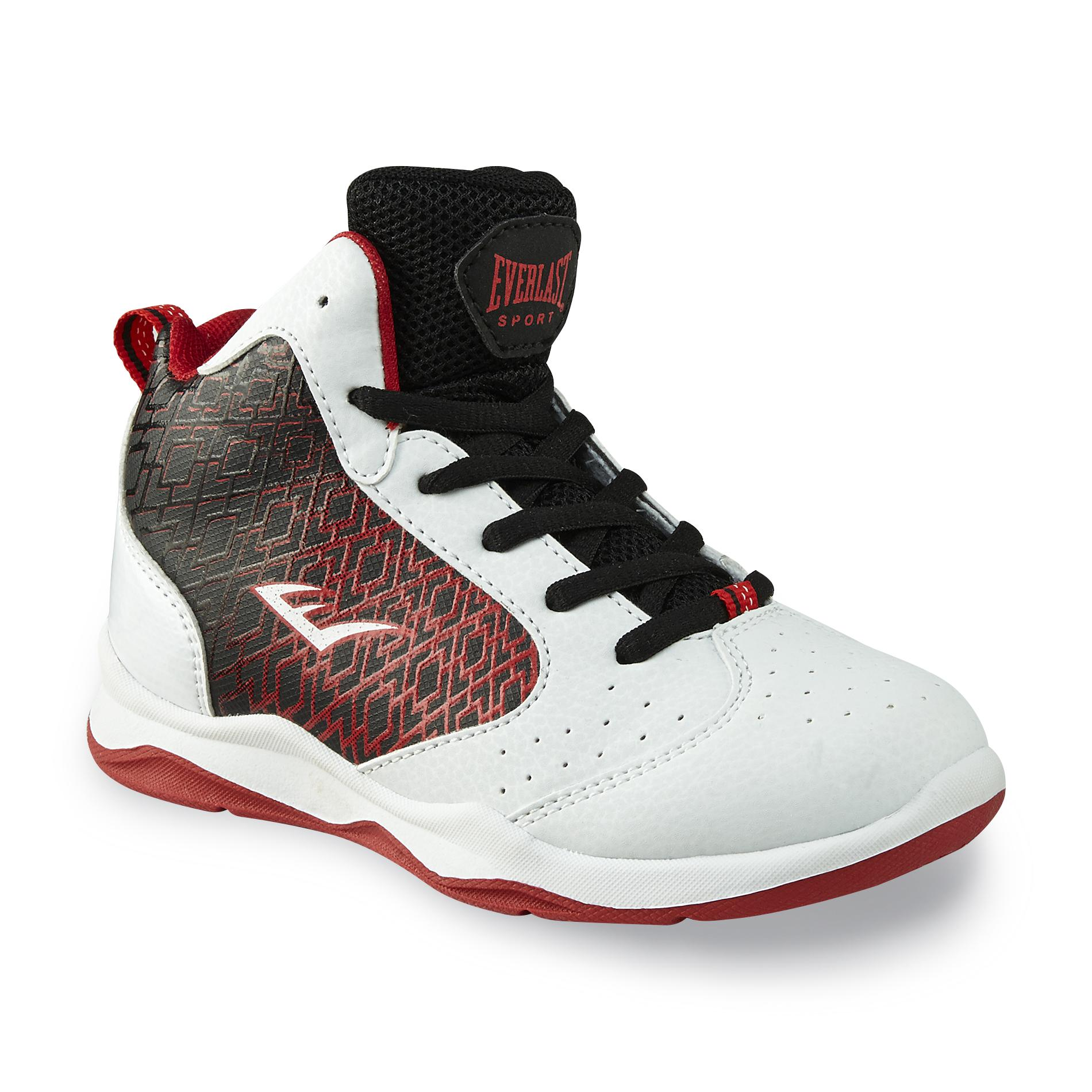 Everlast® Sport Boy's Code White/Black/Red Basketball Shoe PartNumber: 035VA83233412P MfgPartNumber: 81154
