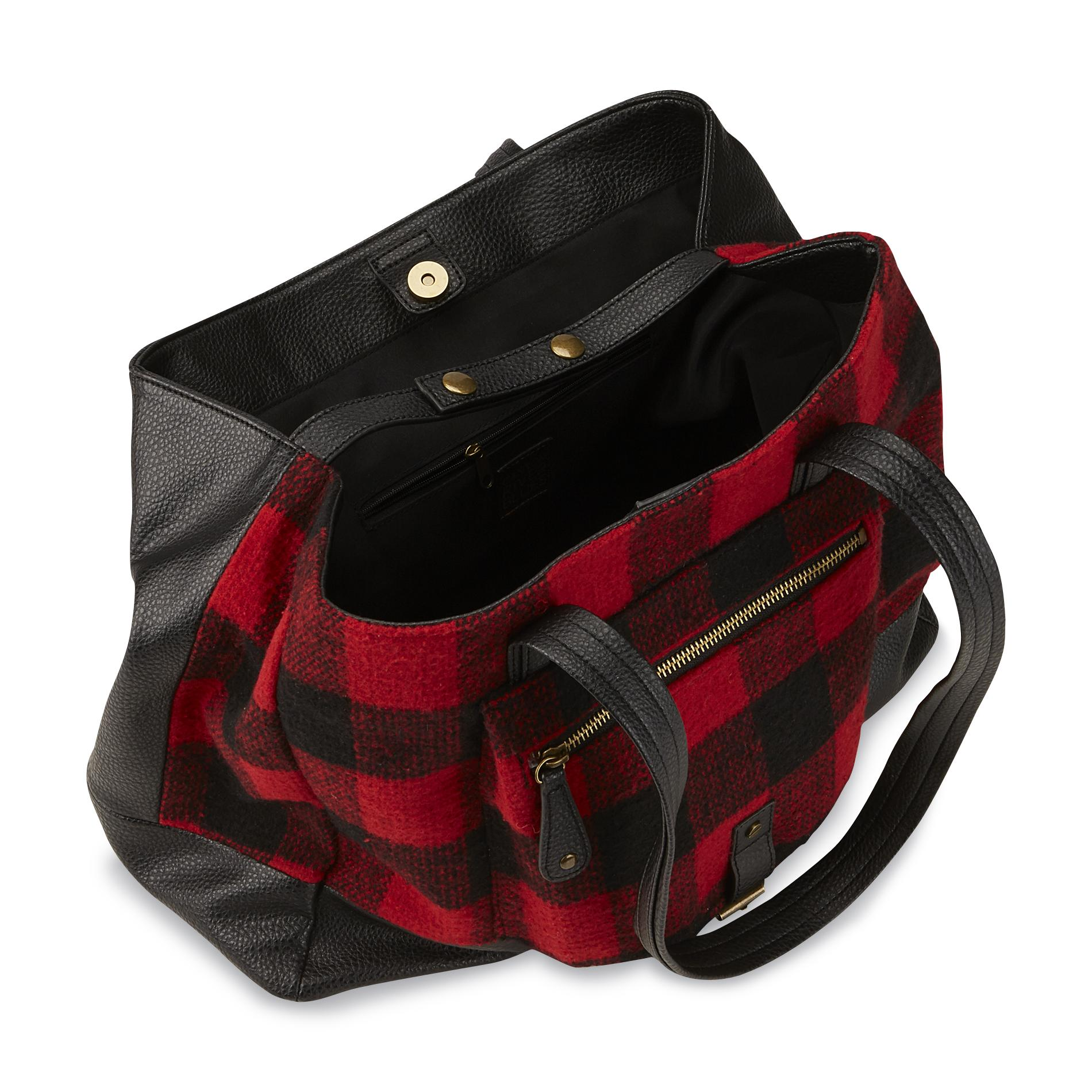 Canyon River Blues Women's Cyprus Expandable Shoulder Bag - Plaid
