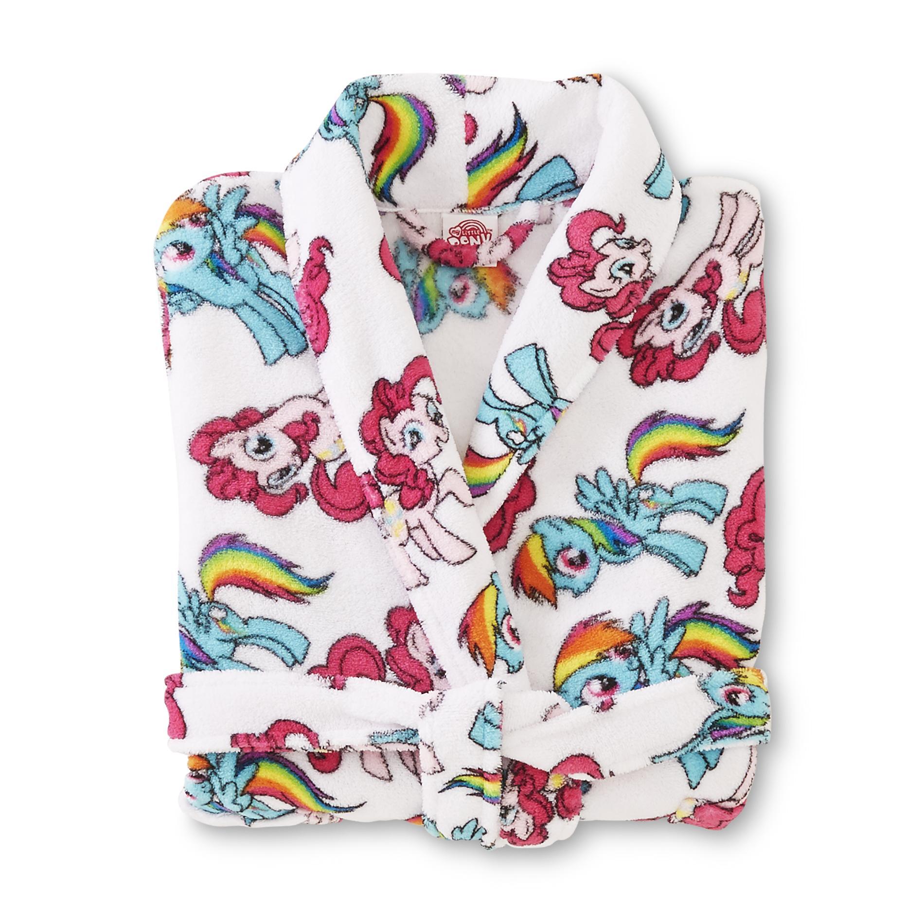 My Little Pony Girl's Microfleece Bathrobe