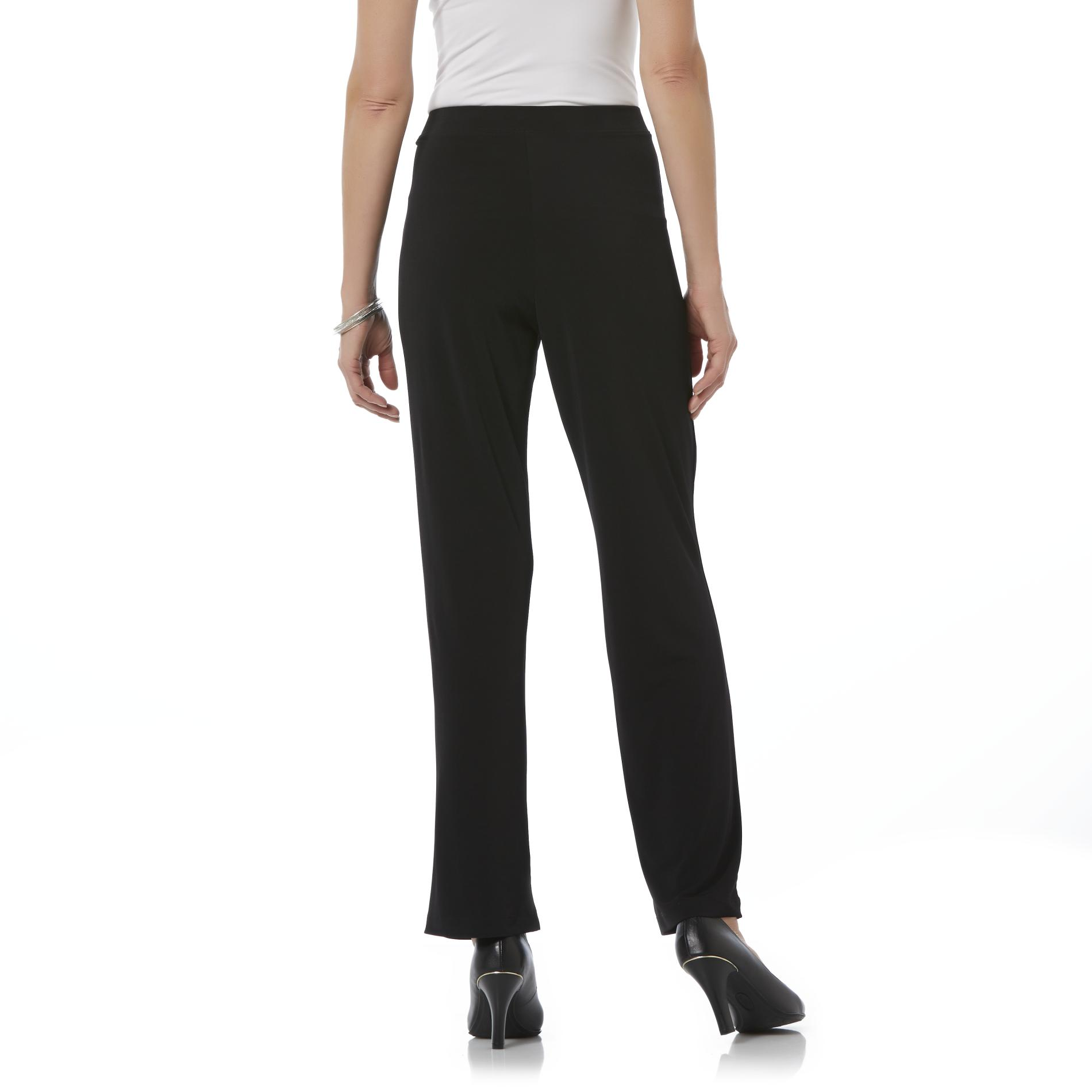 Jaclyn Smith Women's Knit Pants