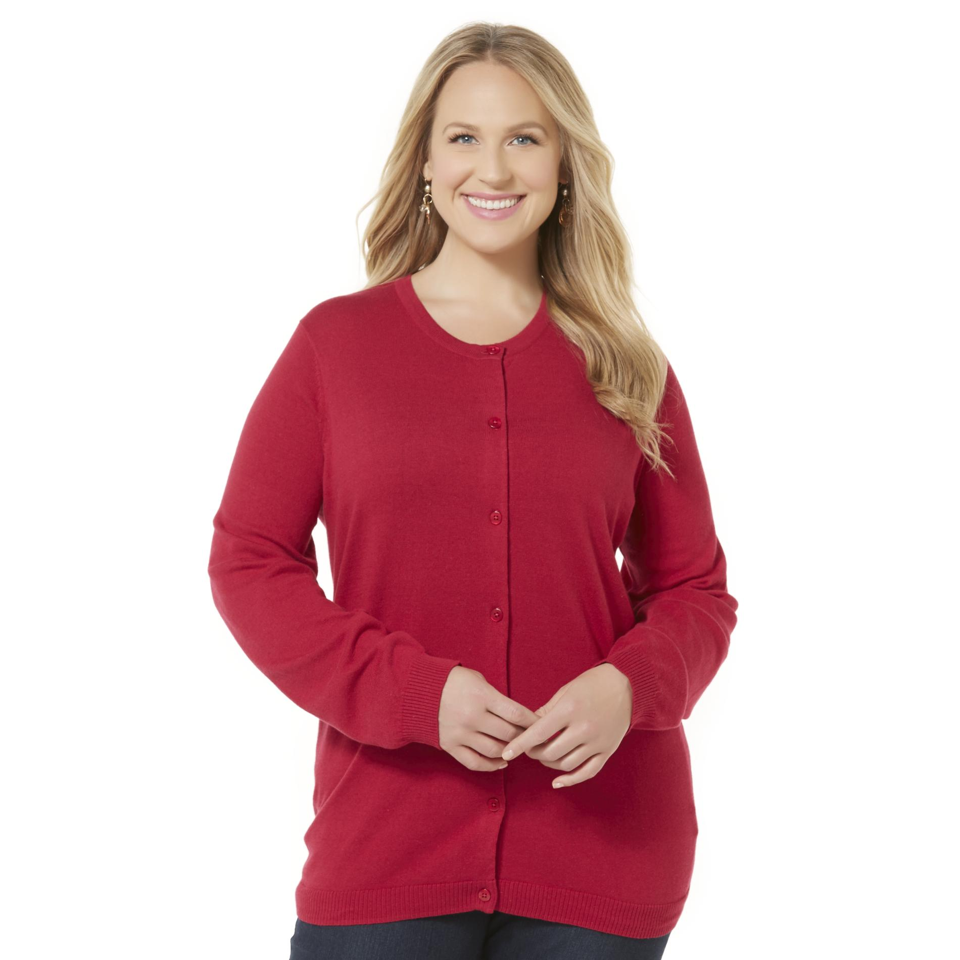 Laura Scott Women's Plus Cardigan