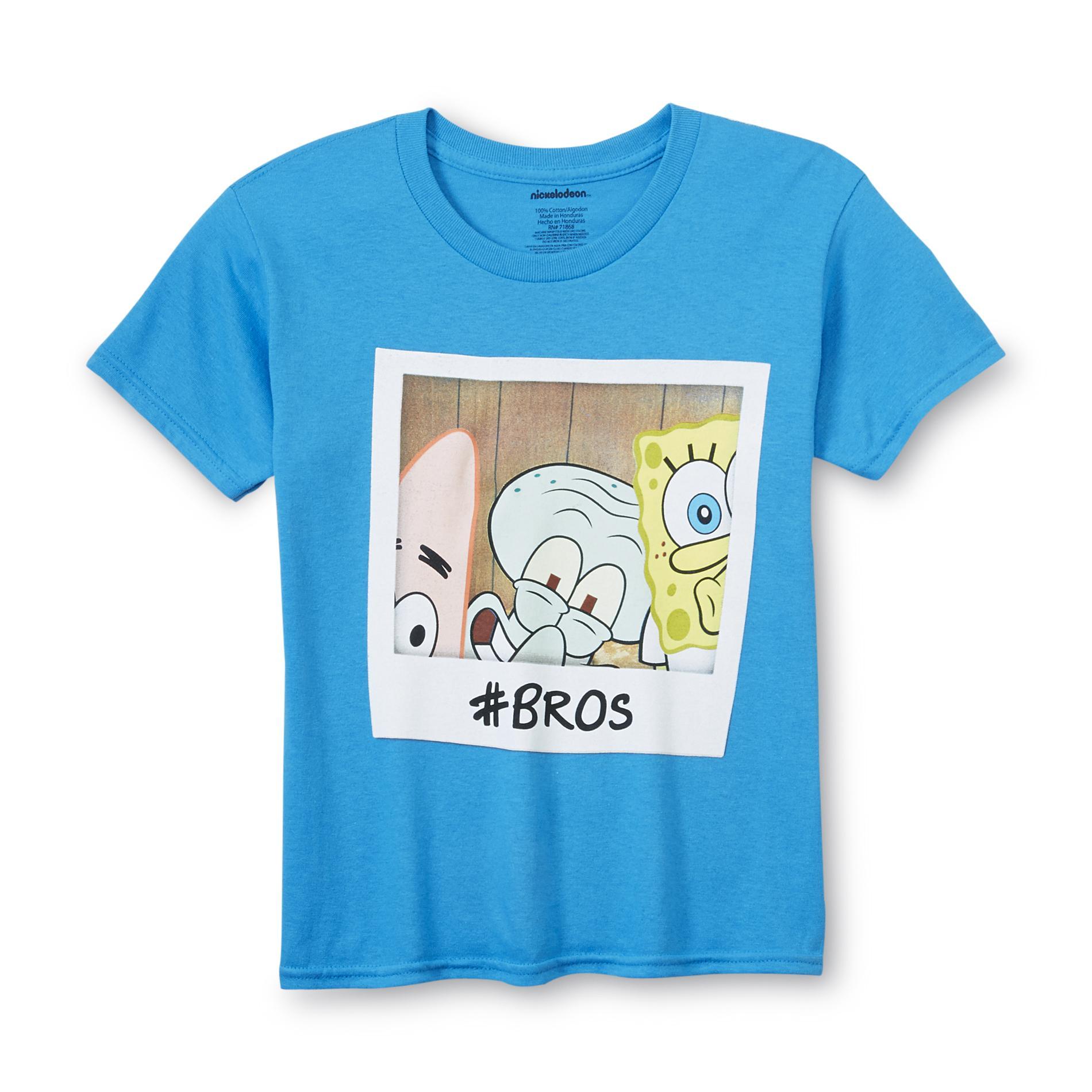Nickelodeon SpongeBob SquarePants Boy's Graphic T-Shirt - Bros