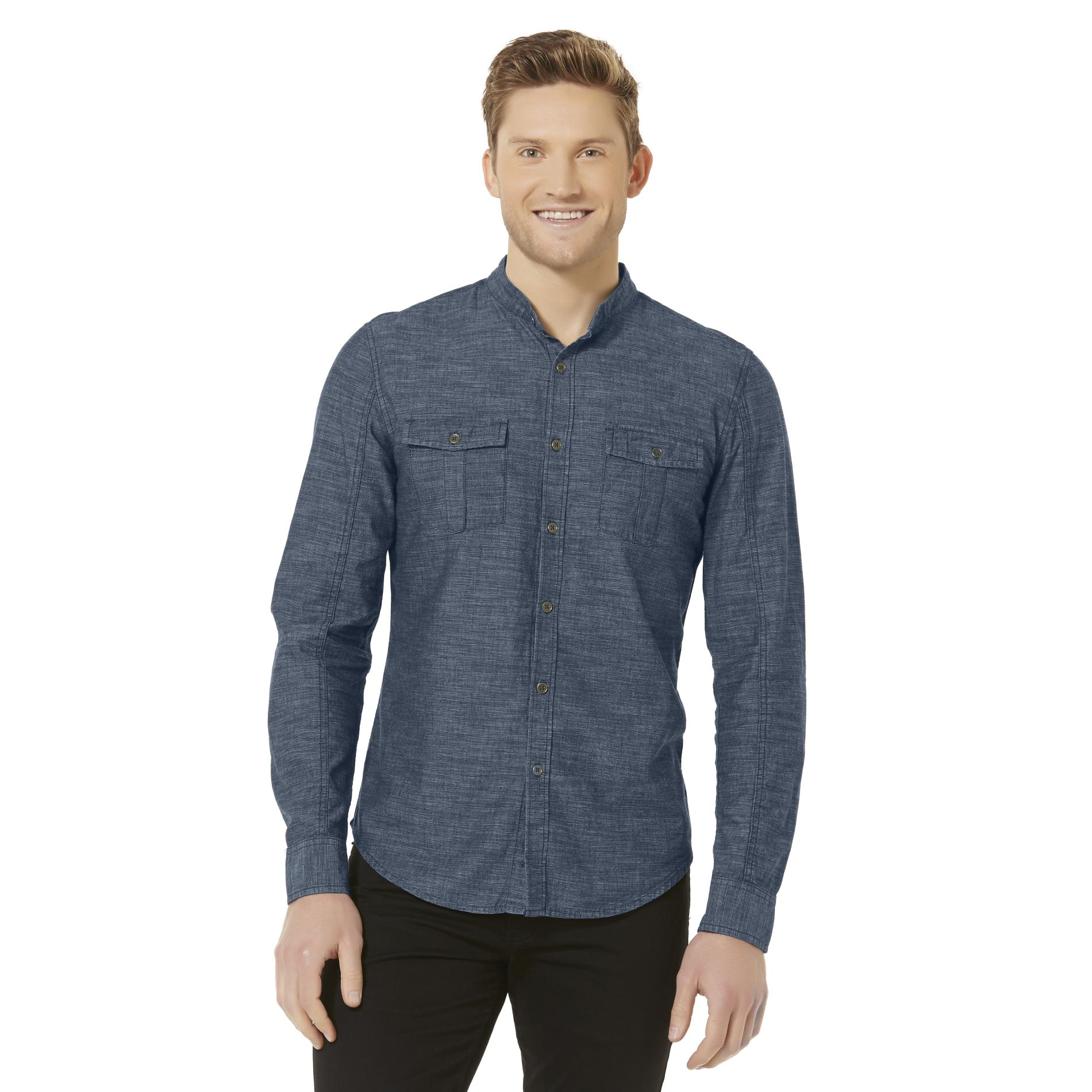 Structure Men's Button-Up Casual Shirt