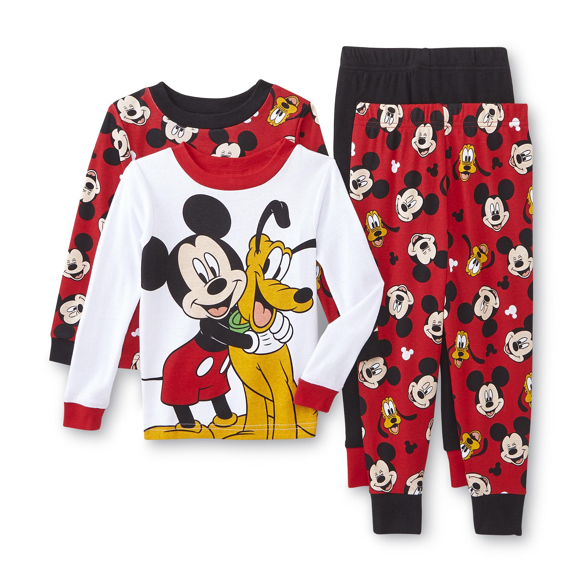 Mickey Mouse Infant & Toddler Boy's 2-Pairs Pajamas