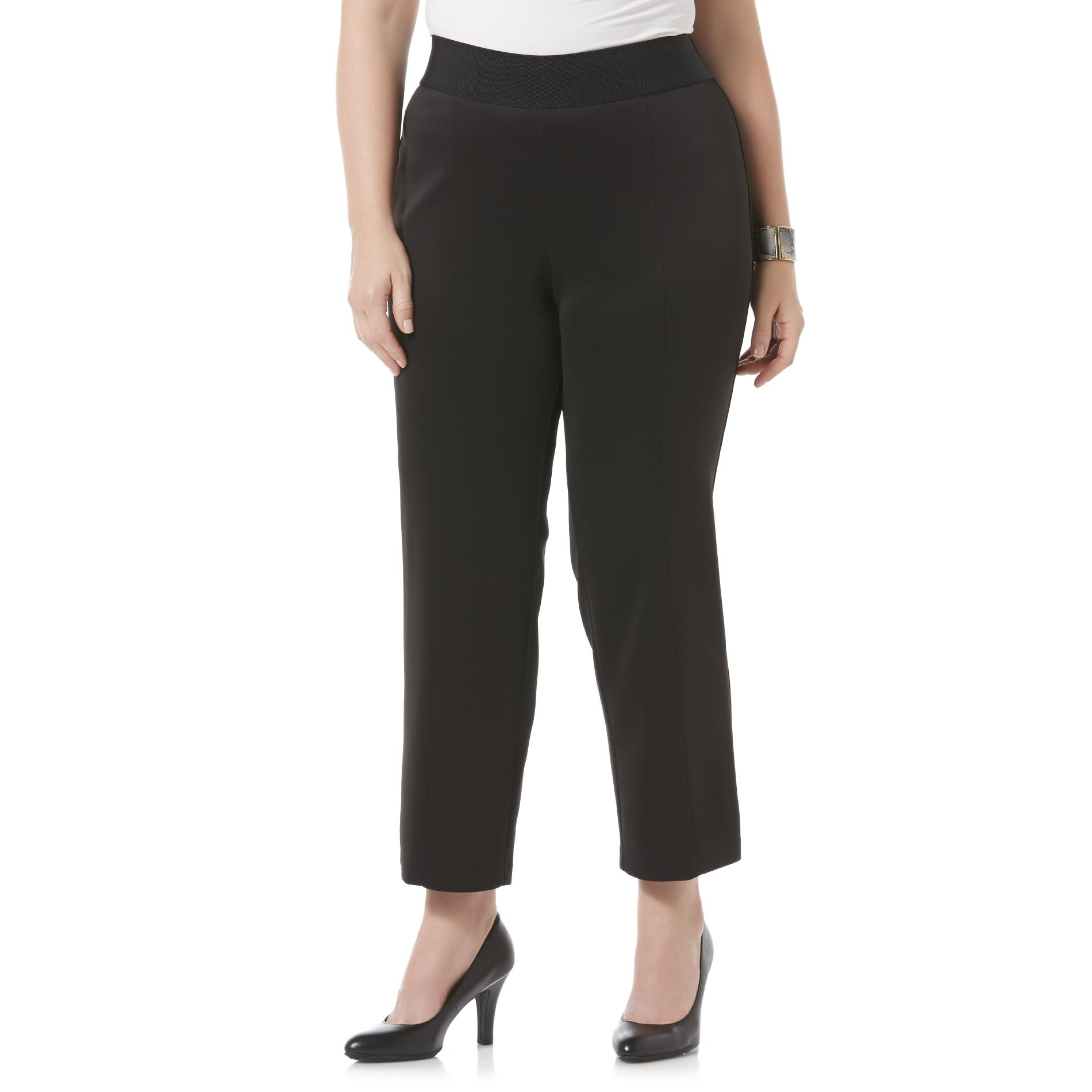 Covington Women's Plus Scuba Dress Pants